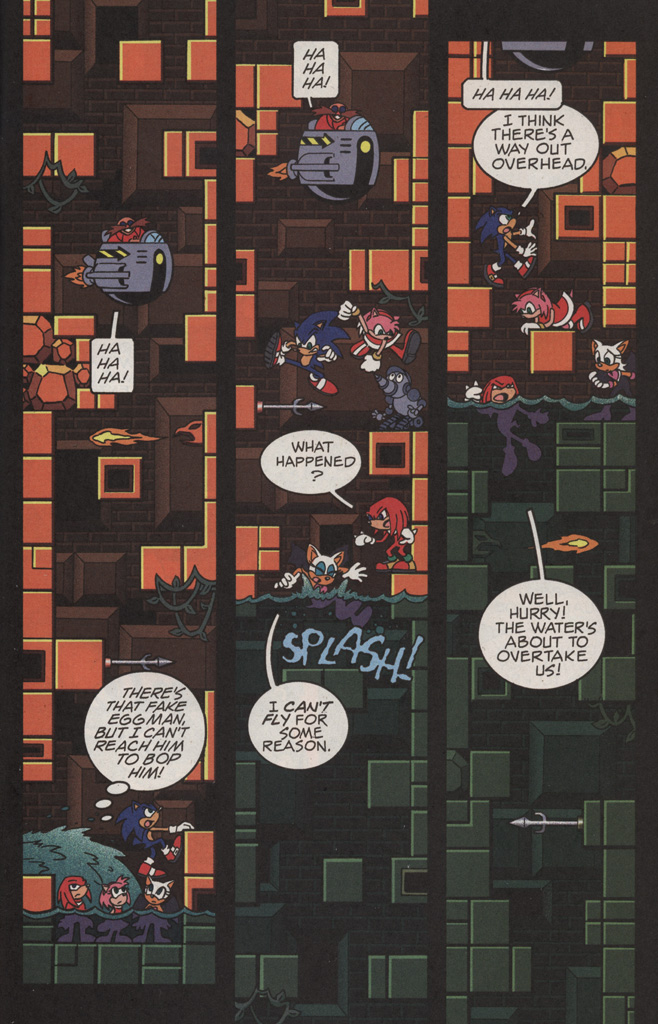 Read online Sonic X comic -  Issue #11 - 13