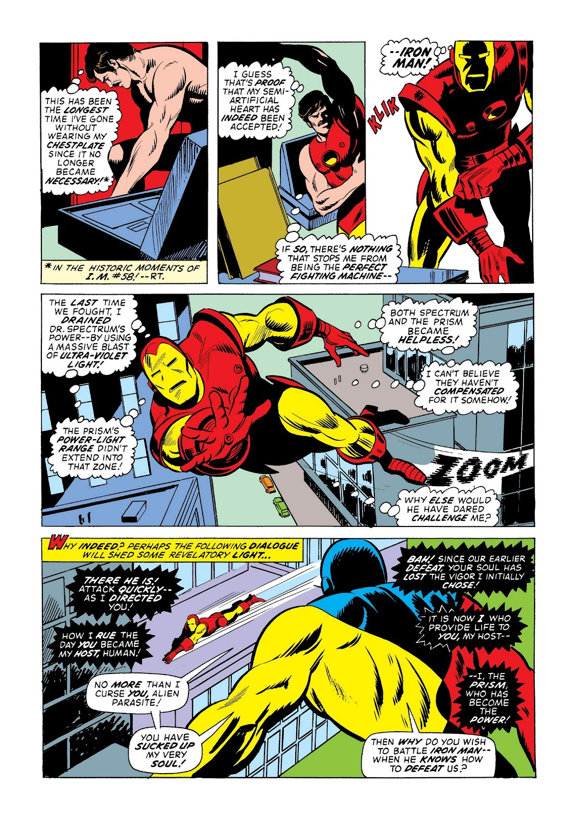 Read online Marvel Masterworks: The Invincible Iron Man comic -  Issue # TPB 9 (Part 3) - 7