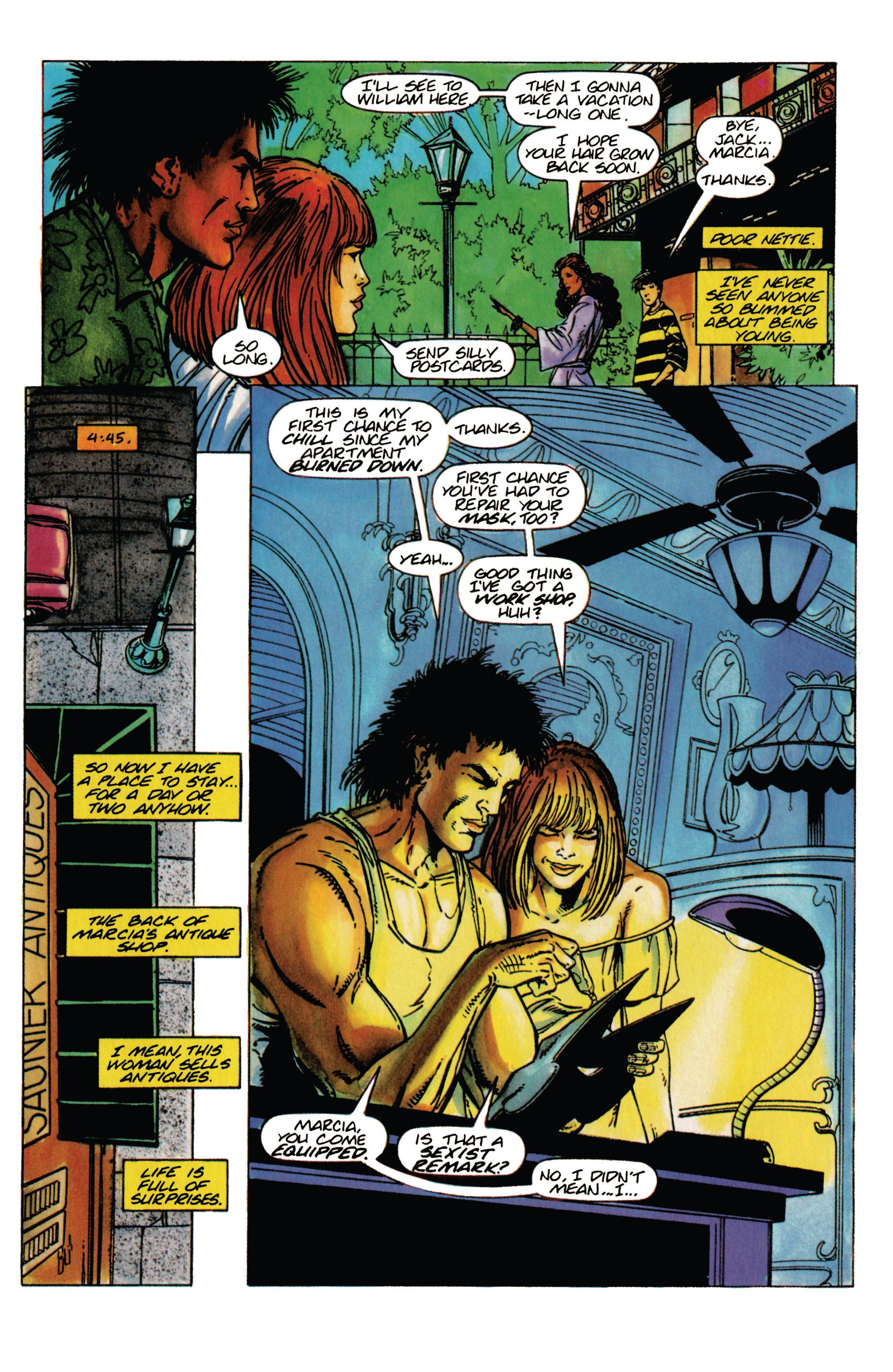 Read online Shadowman (1992) comic -  Issue #31 - 7