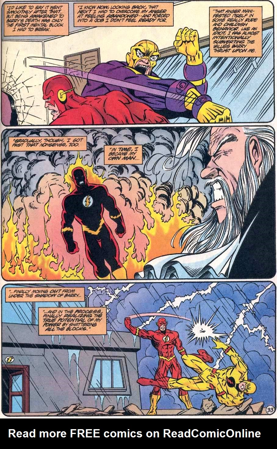 Read online The Flash (1987) comic -  Issue # _Annual 8 - 34