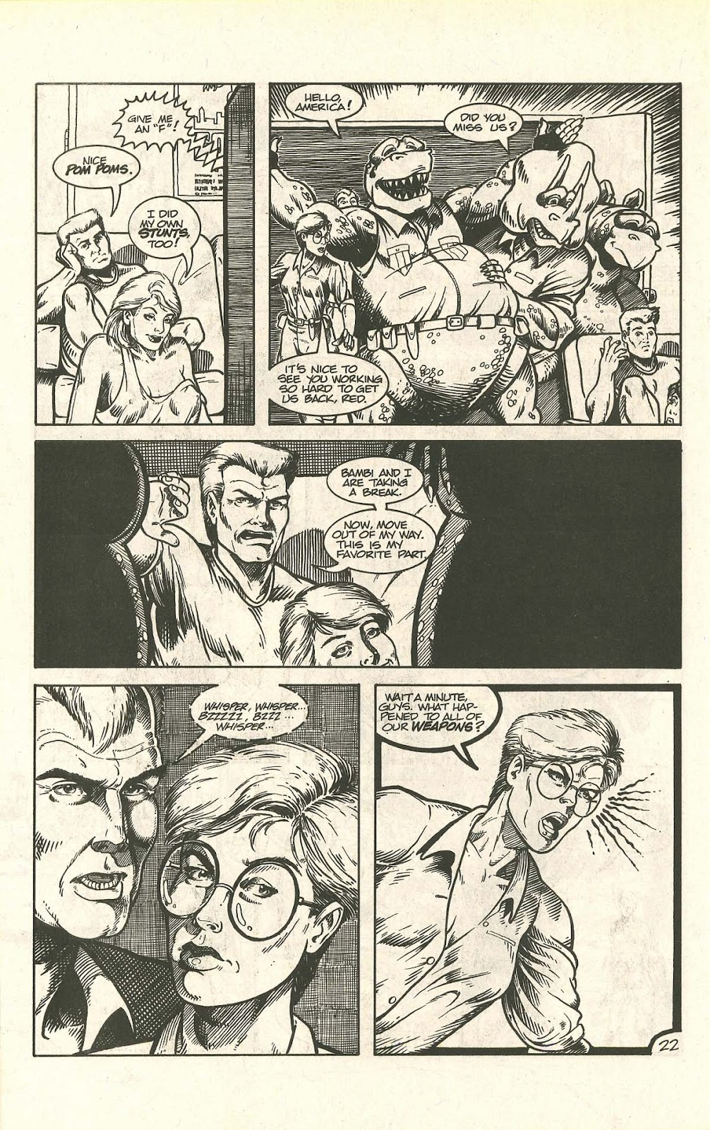 Dinosaurs For Hire (1988) issue 9 - Page 28