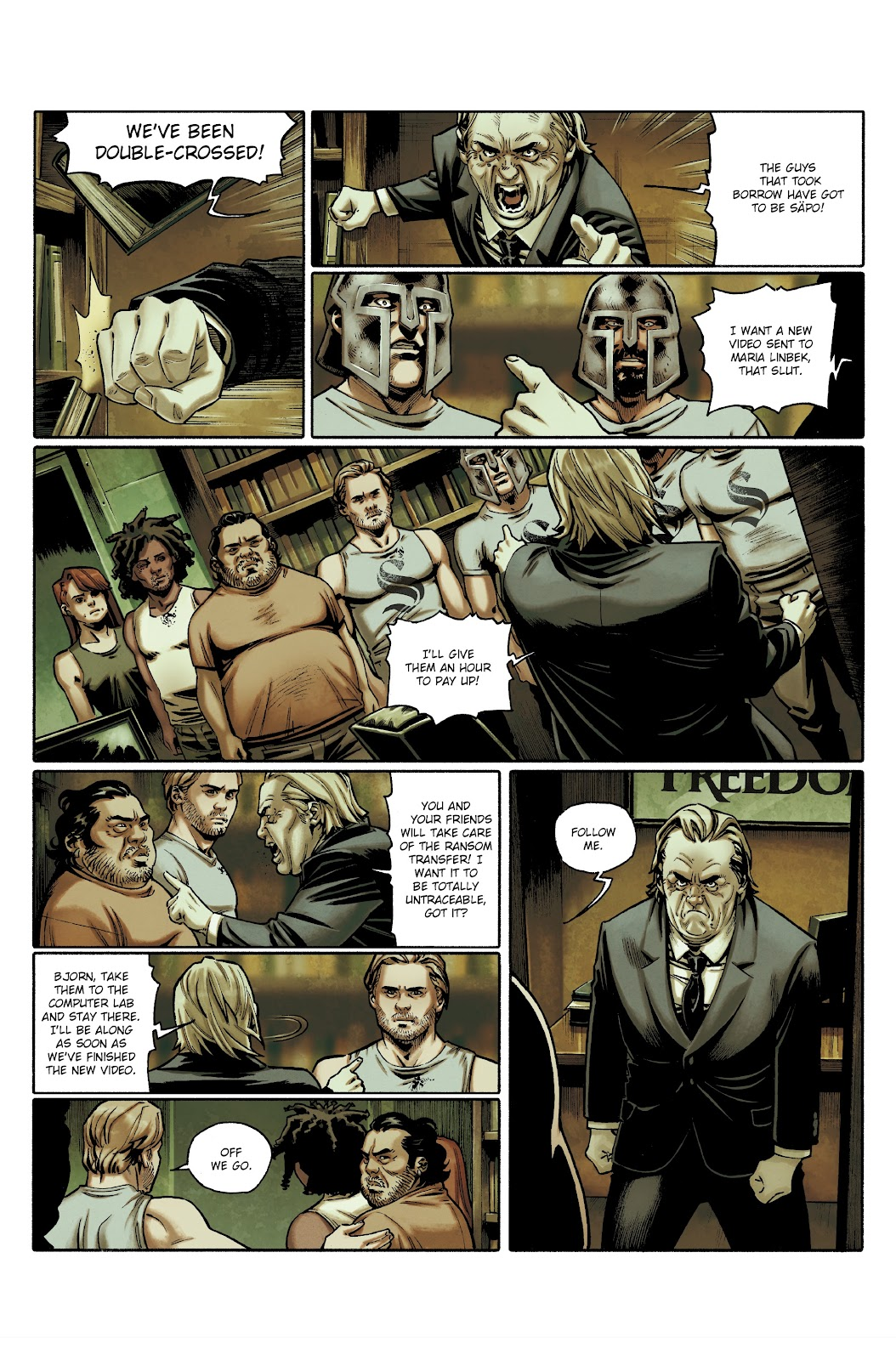 Read online Millennium: The Girl Who Danced With Death comic -  Issue #3 - 35