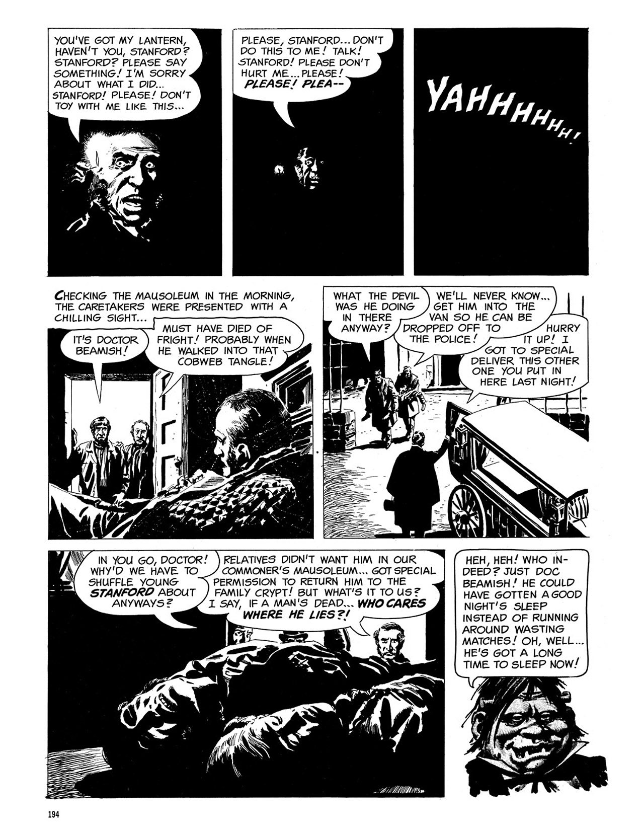 Read online Eerie Archives comic -  Issue # TPB 3 - 195