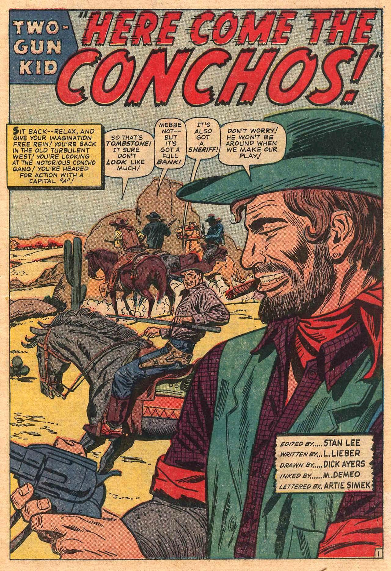 Read online Two-Gun Kid comic -  Issue #82 - 3