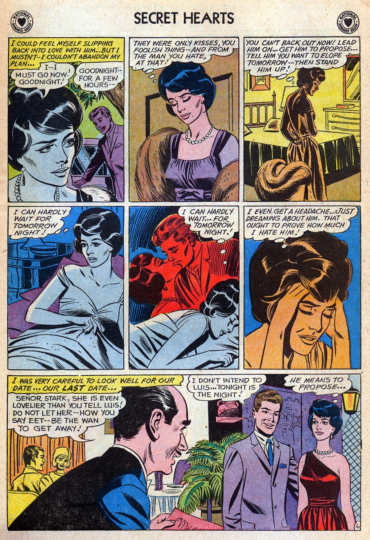 Read online Secret Hearts comic -  Issue #76 - 23