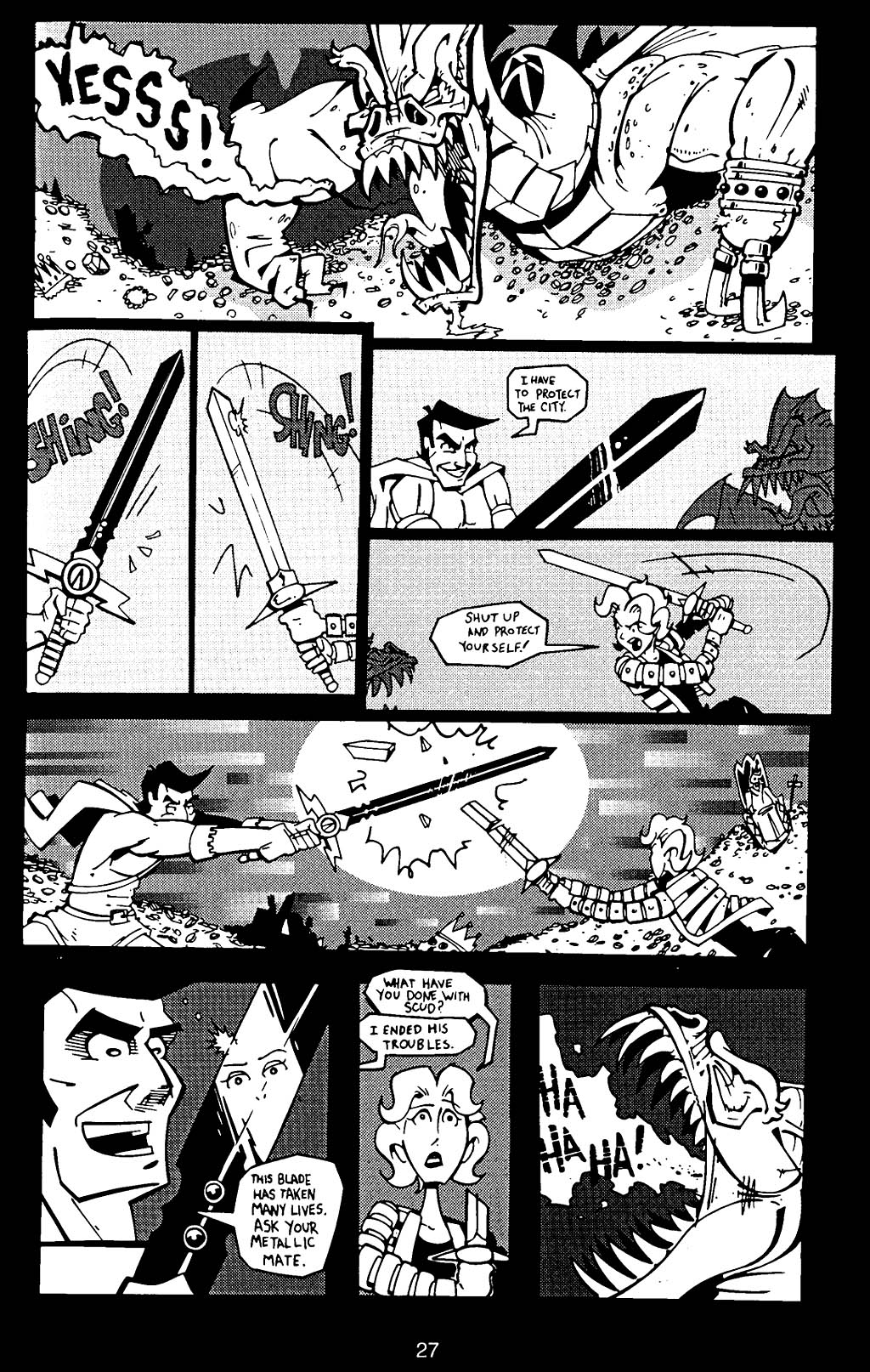Read online Scud: The Disposable Assassin (1994) comic -  Issue #17 - 29