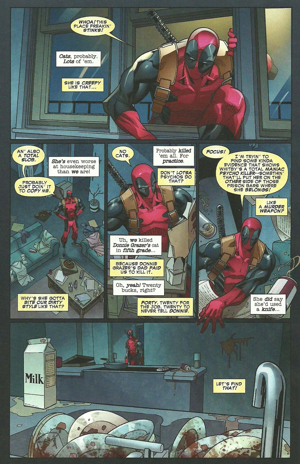Read online Deadpool (2008) comic -  Issue #44 - 4