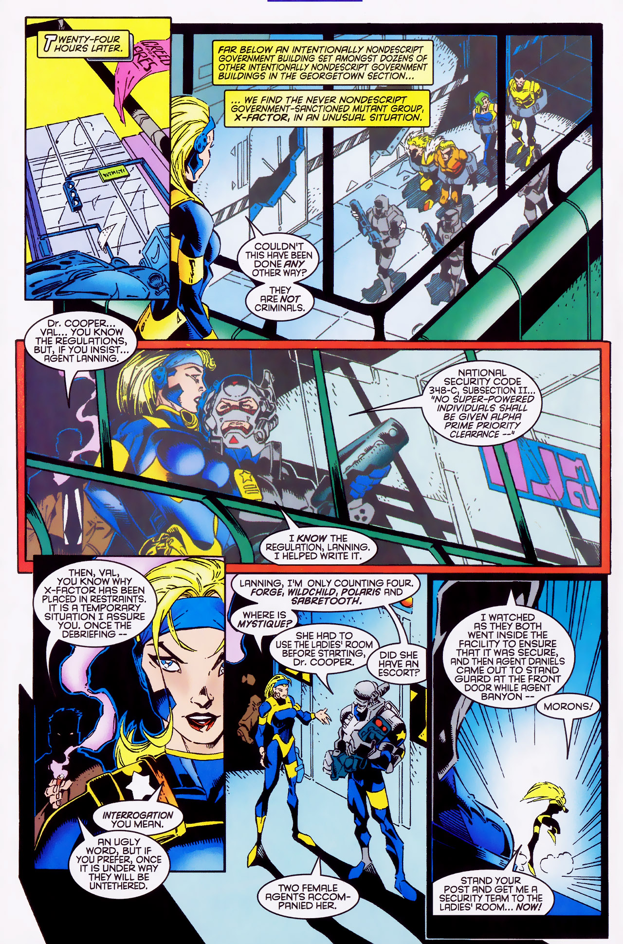 Read online X-Factor (1986) comic -  Issue #127 - 6