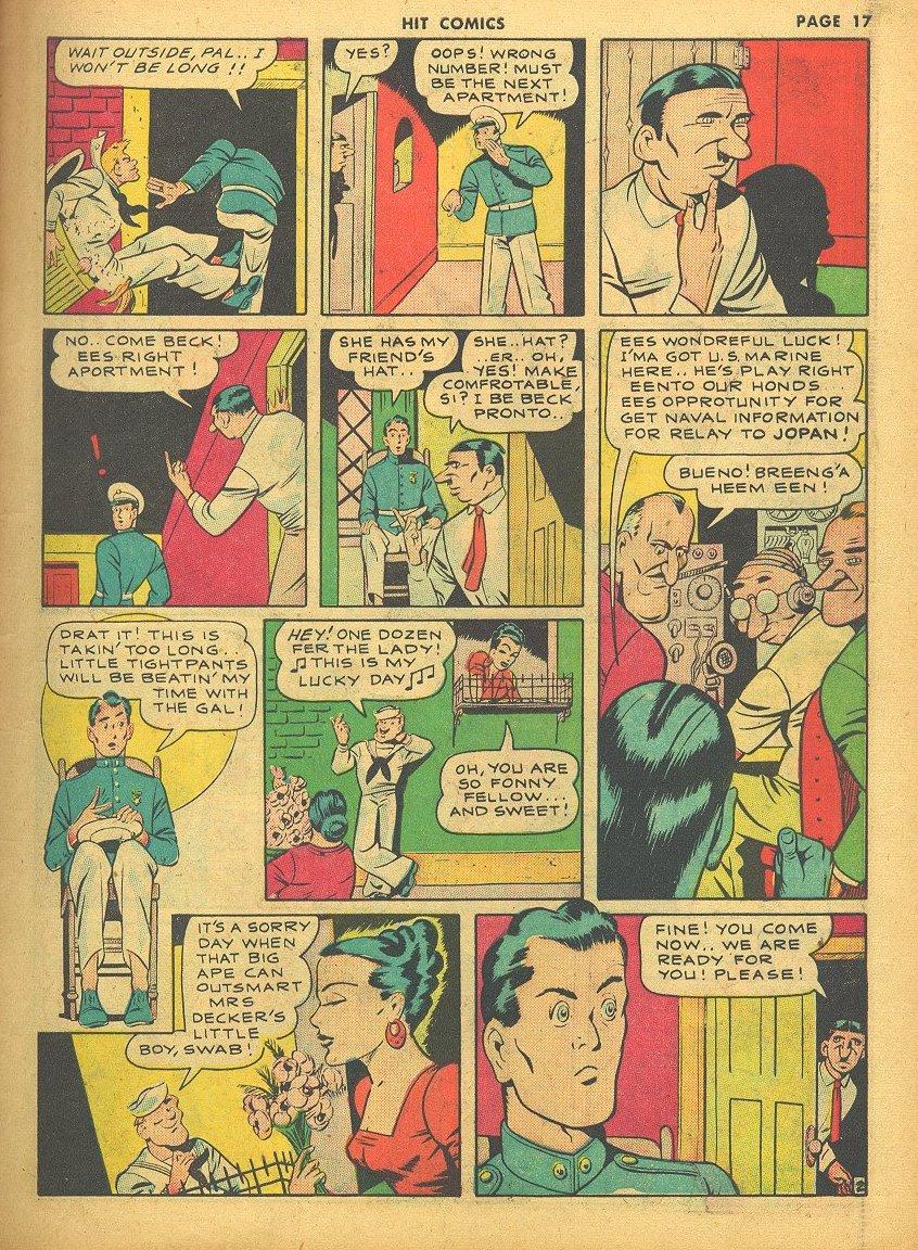 Read online Hit Comics comic -  Issue #24 - 19