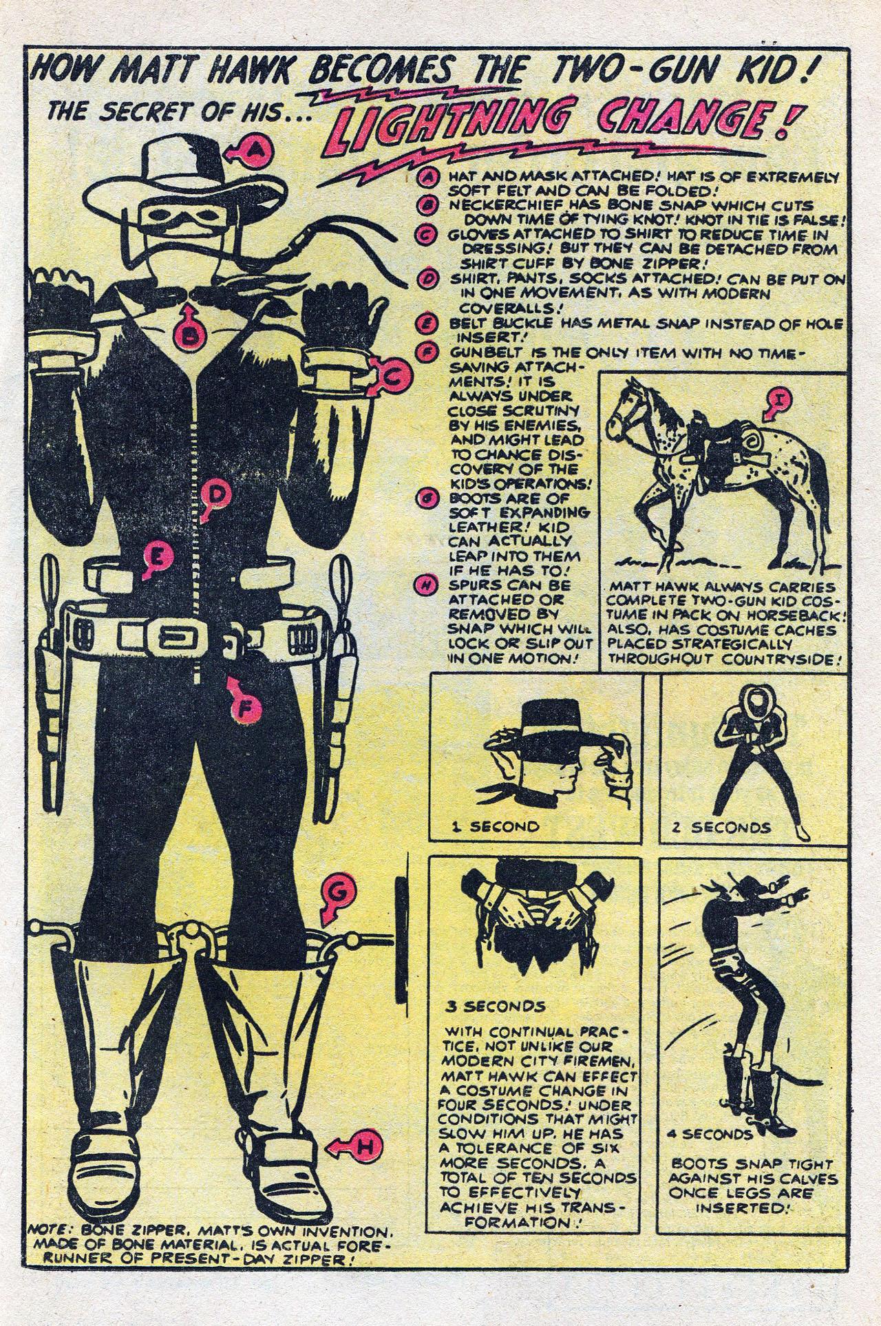 Read online Two-Gun Kid comic -  Issue #128 - 21