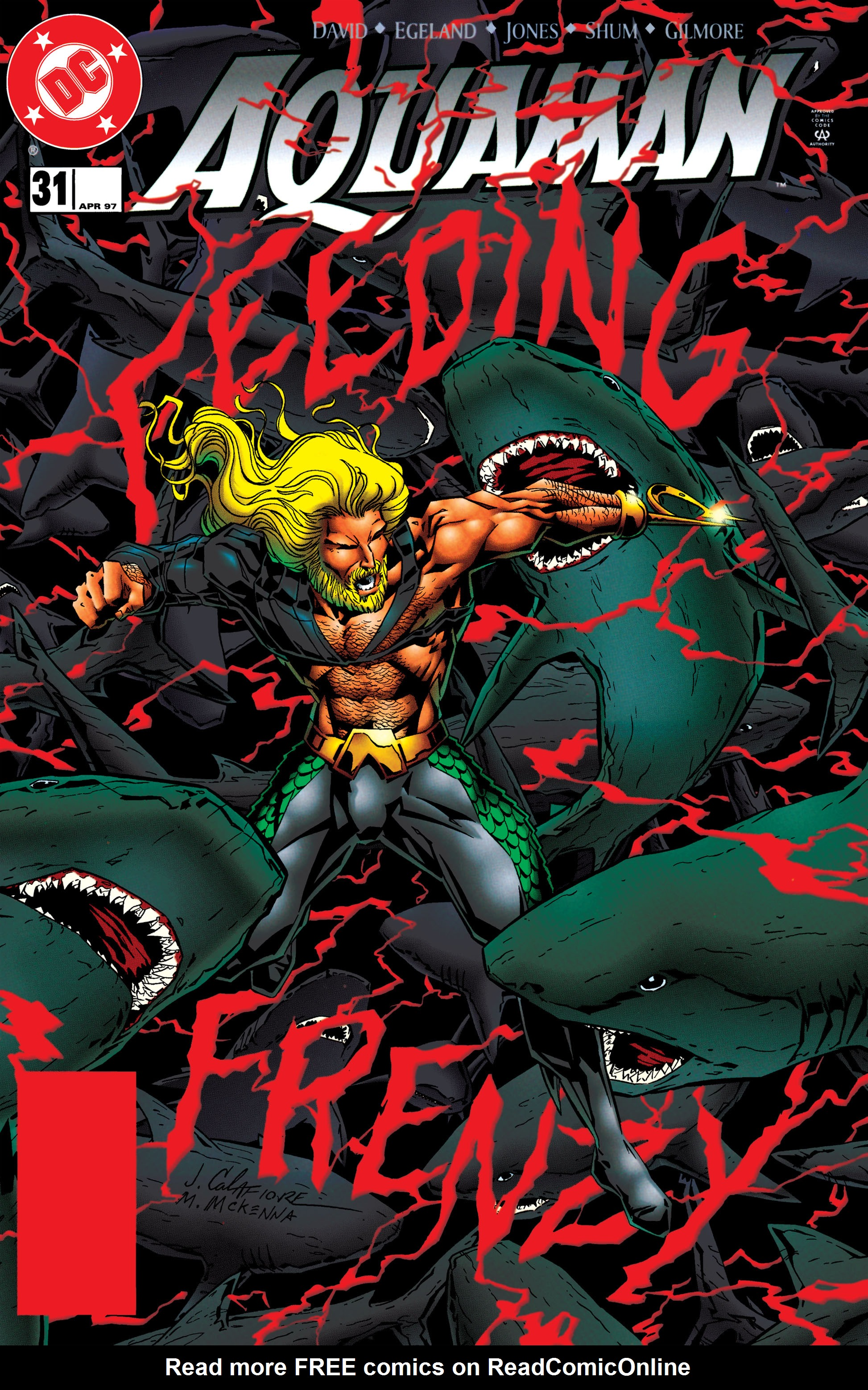 Read online Aquaman (1994) comic -  Issue #31 - 1