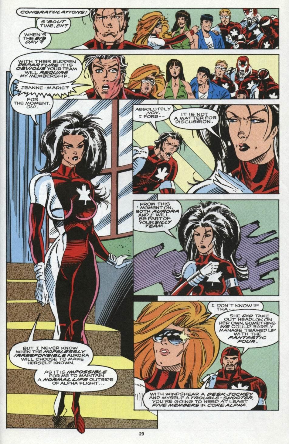 Read online Alpha Flight (1983) comic -  Issue #104 - 22