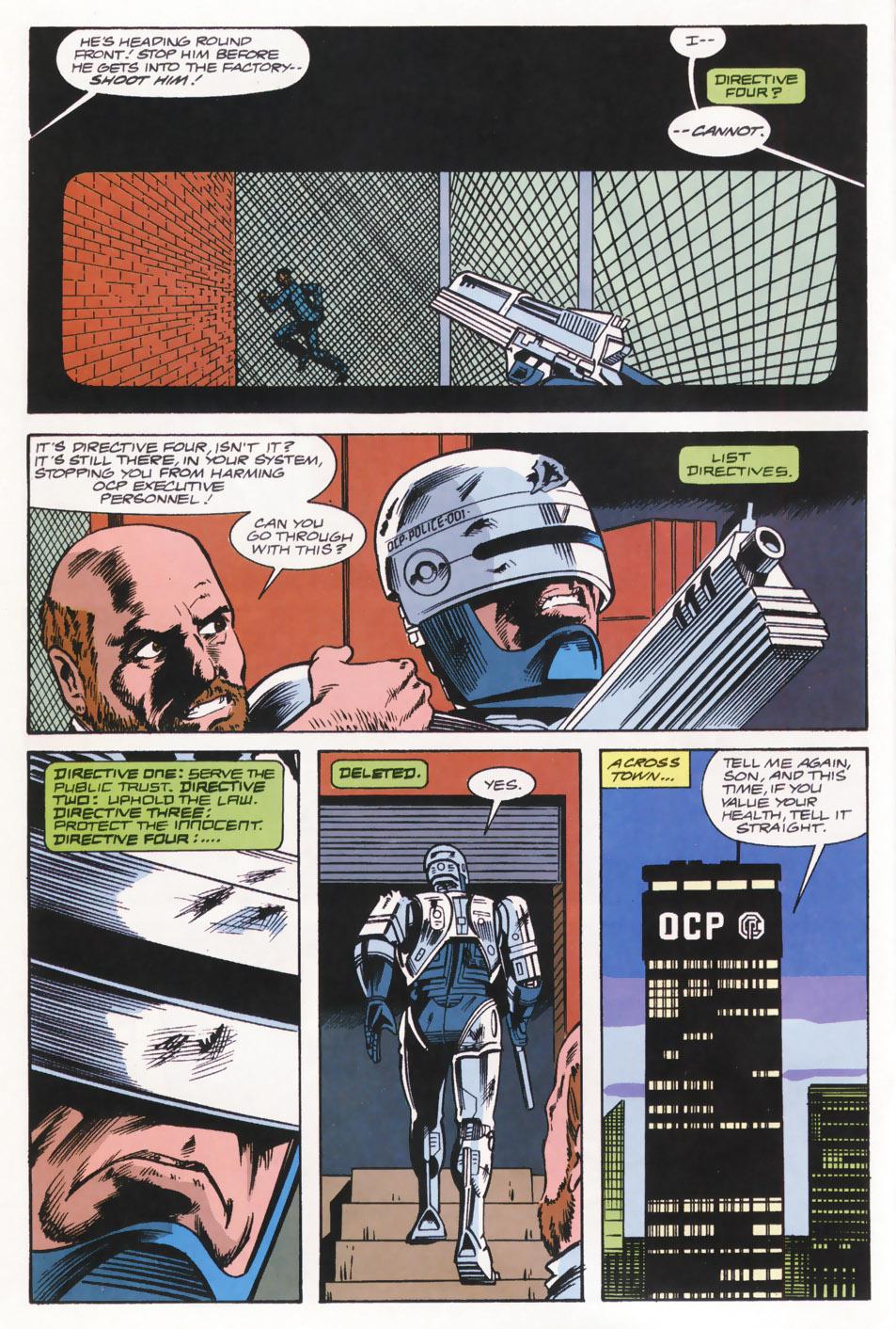 Read online Robocop (1990) comic -  Issue #15 - 11