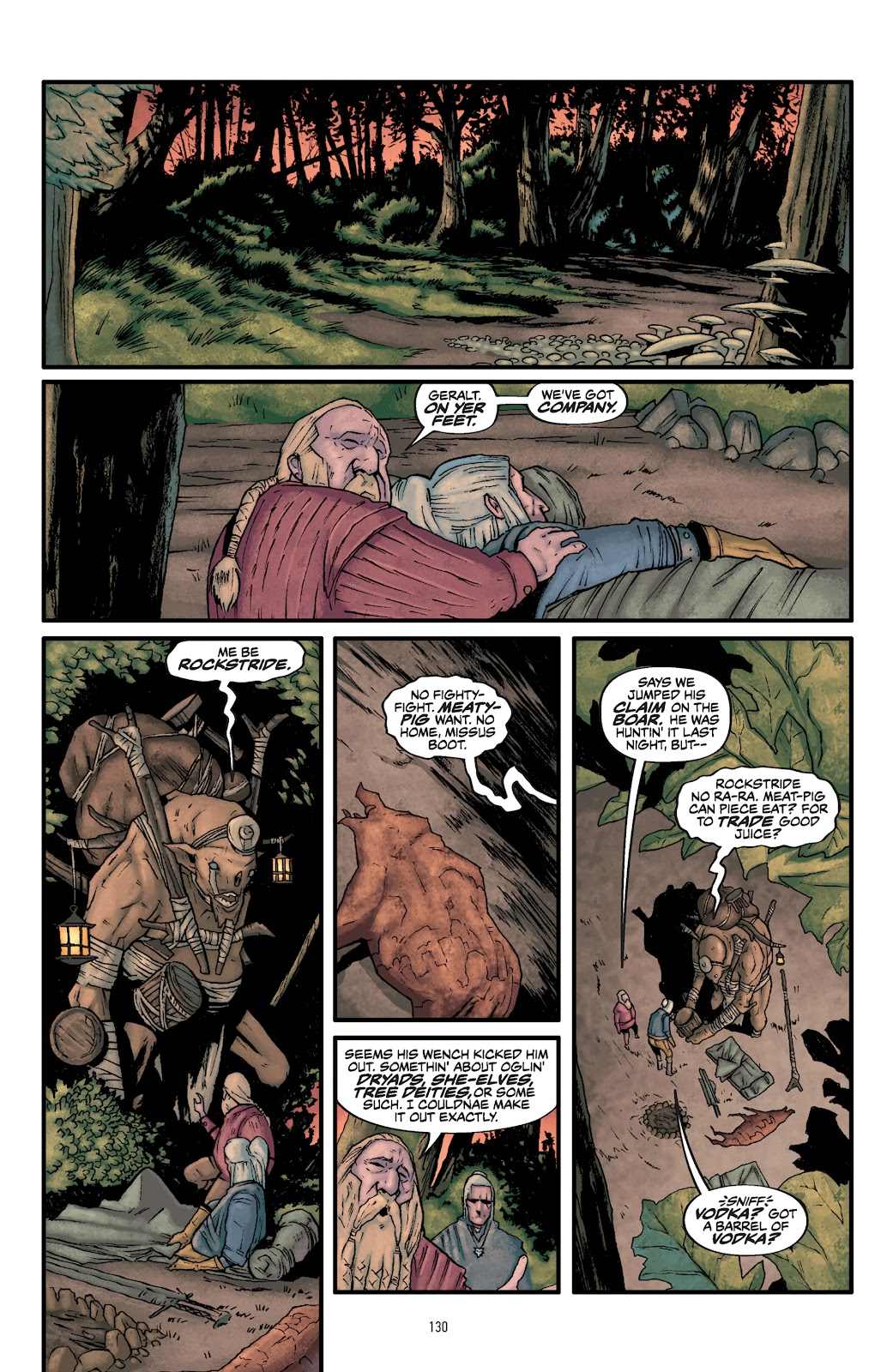 Read online The Witcher Omnibus comic -  Issue # TPB (Part 2) - 32