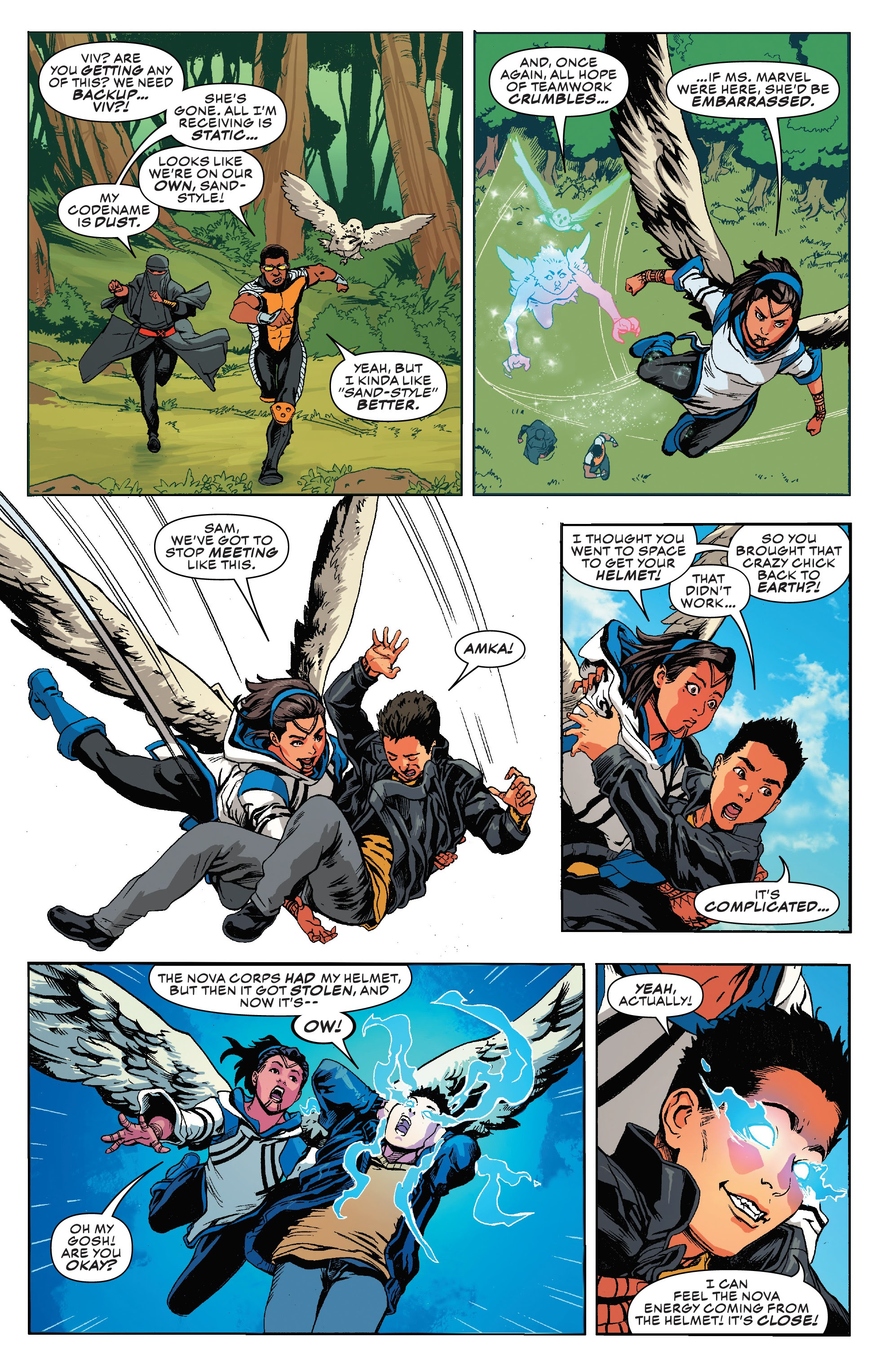 Read online Champions (2019) comic -  Issue #8 - 10