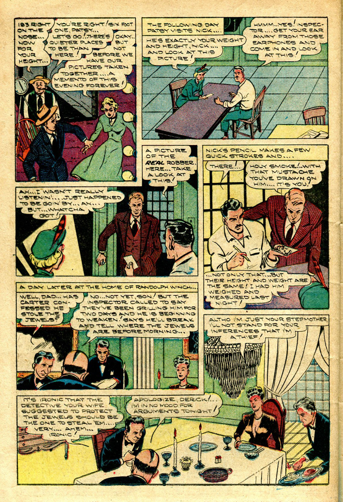 Read online Shadow Comics comic -  Issue #96 - 34