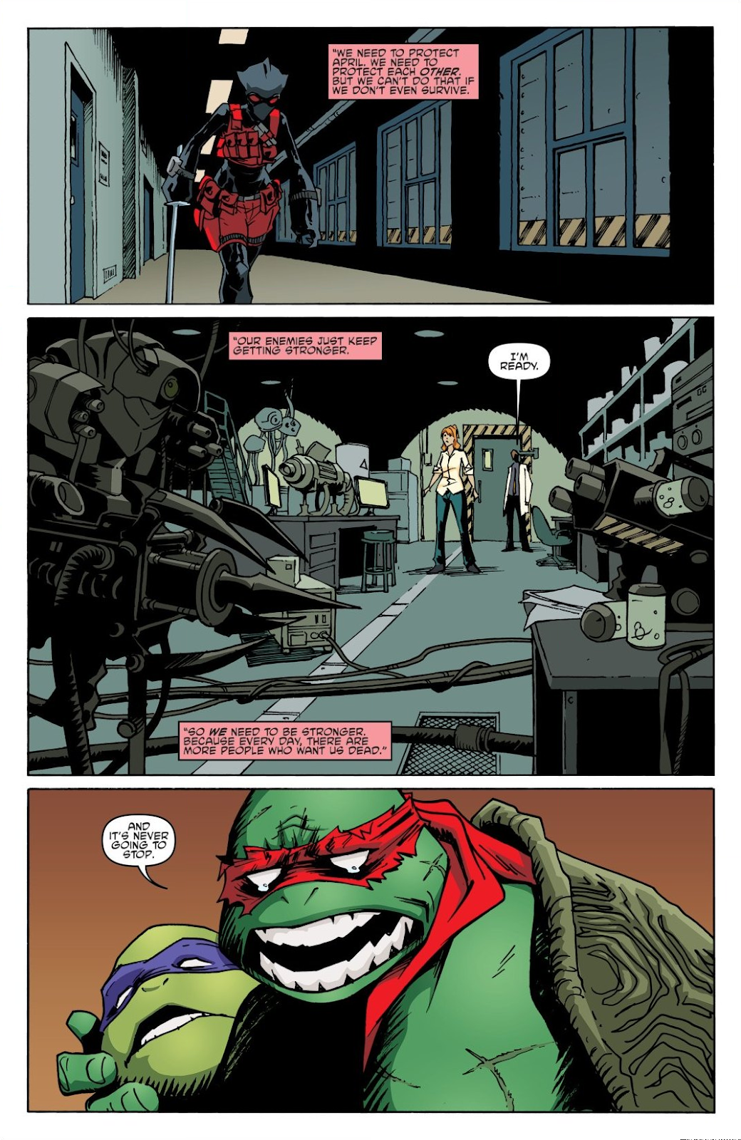Read online Teenage Mutant Ninja Turtles: The IDW Collection comic -  Issue # TPB 8 (Part 2) - 35