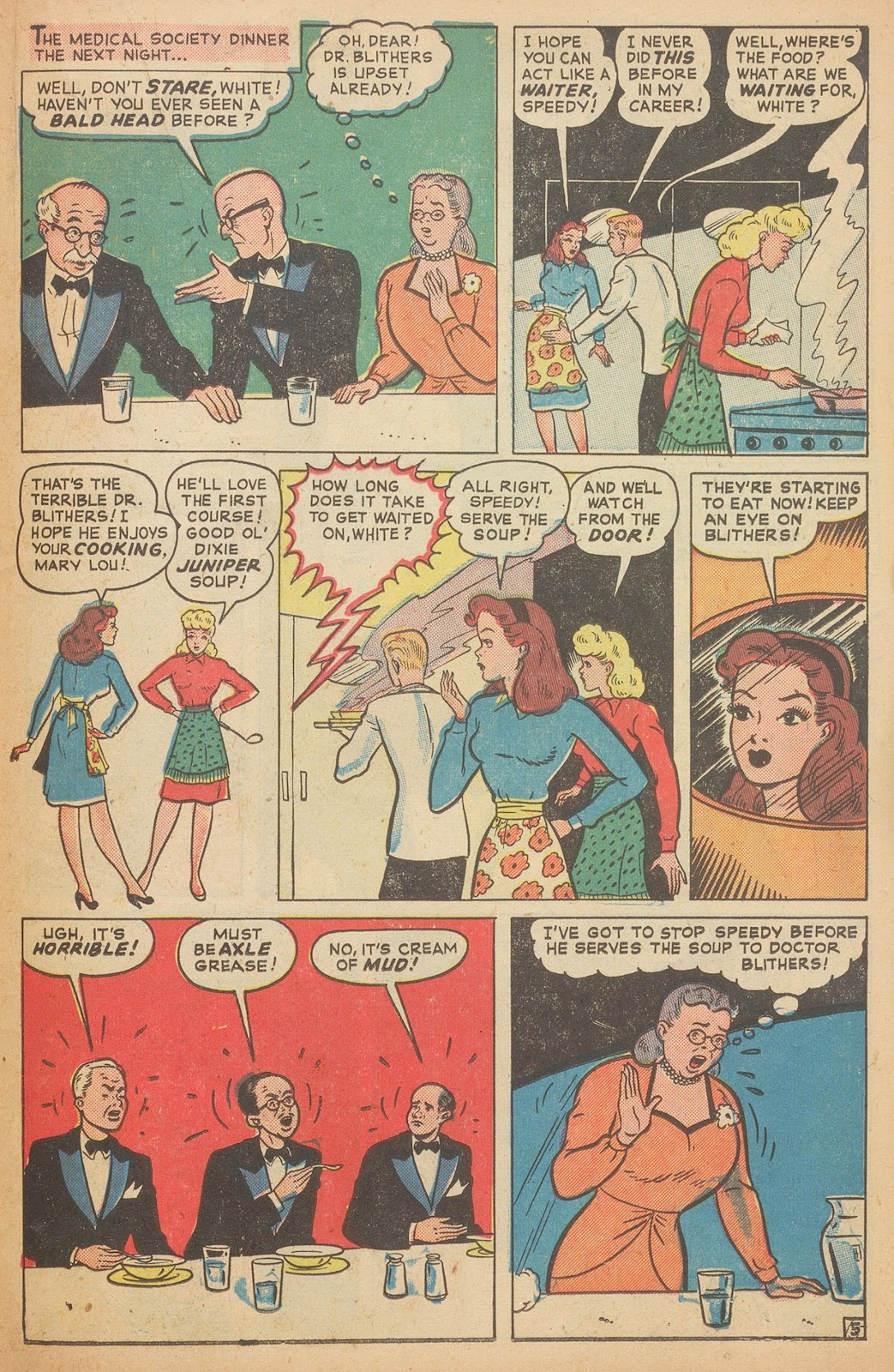 Read online Nellie The Nurse (1945) comic -  Issue #15 - 31