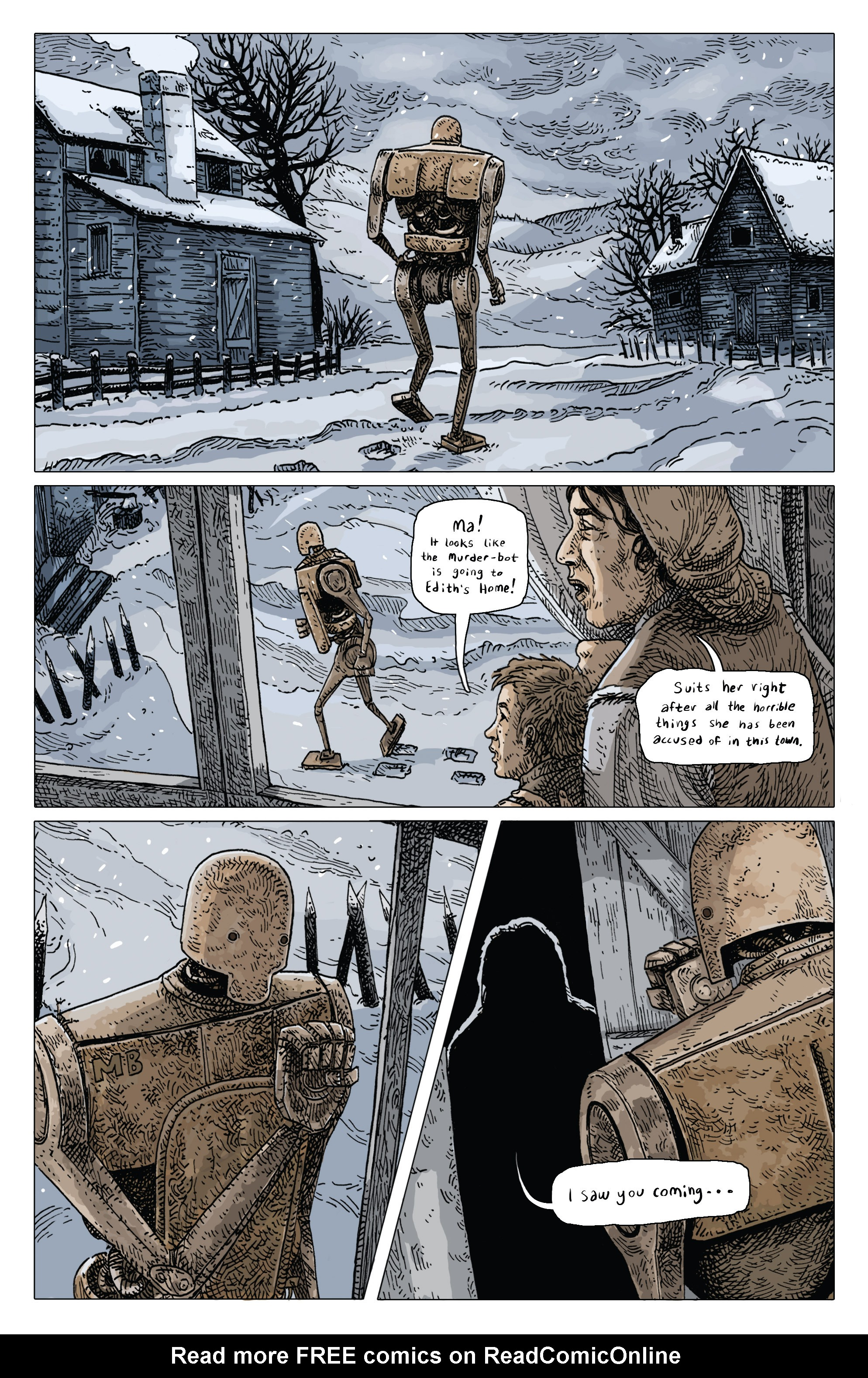 Read online Amazing Forest (2016) comic -  Issue #4 - 5