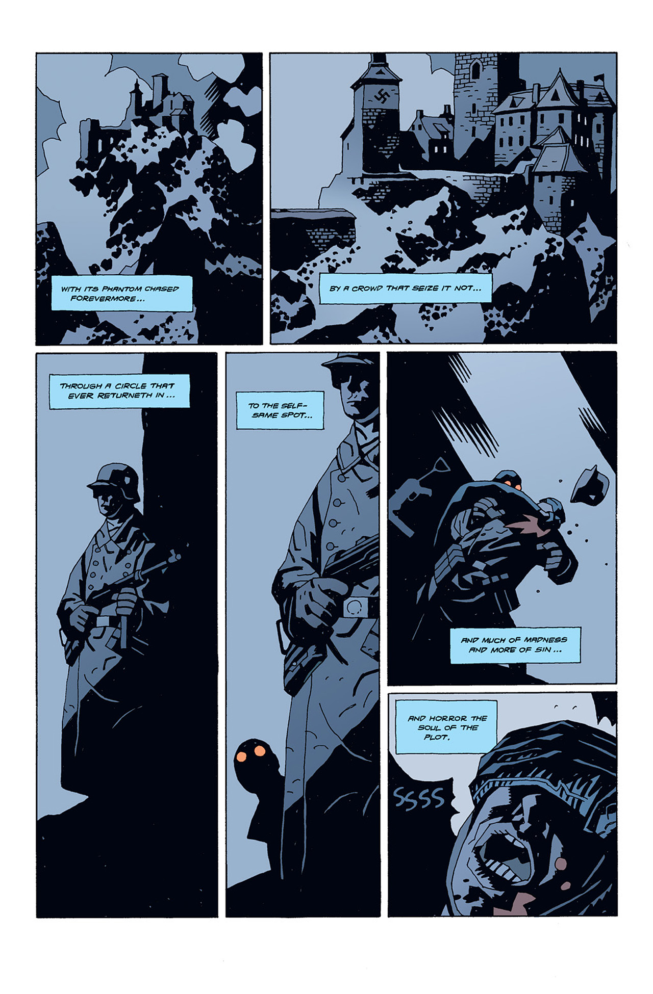 Read online Hellboy: Conqueror Worm comic -  Issue #1 - 4