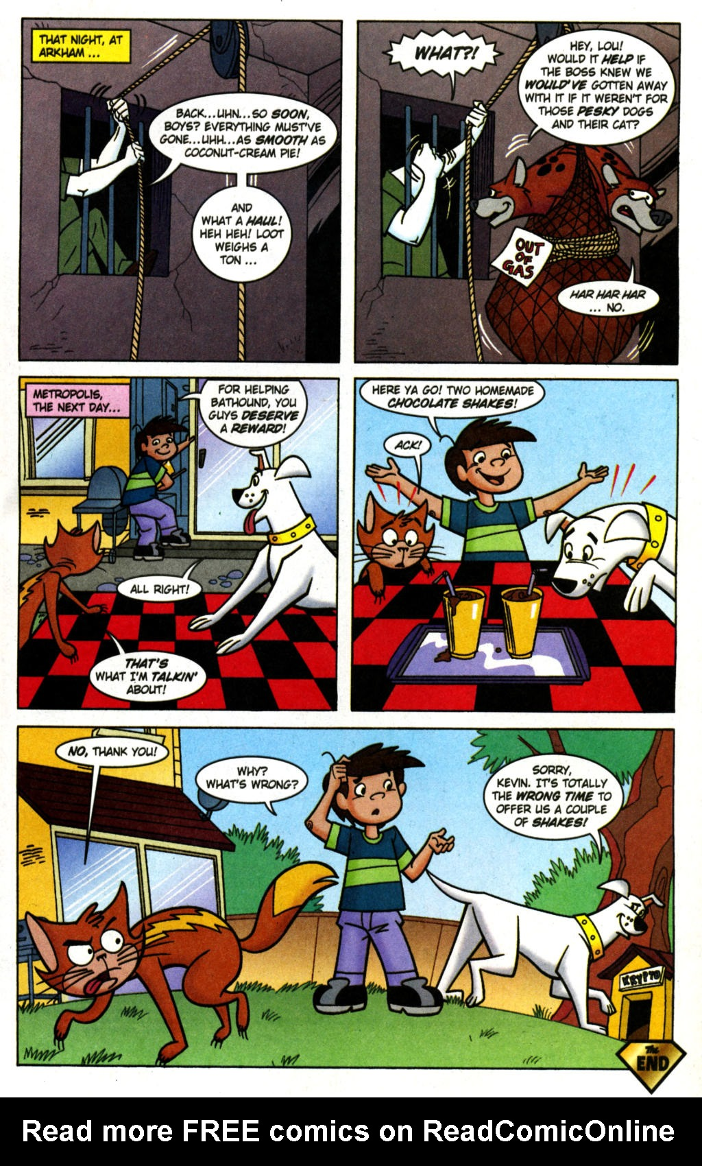 Read online Krypto the Superdog comic -  Issue #1 - 21