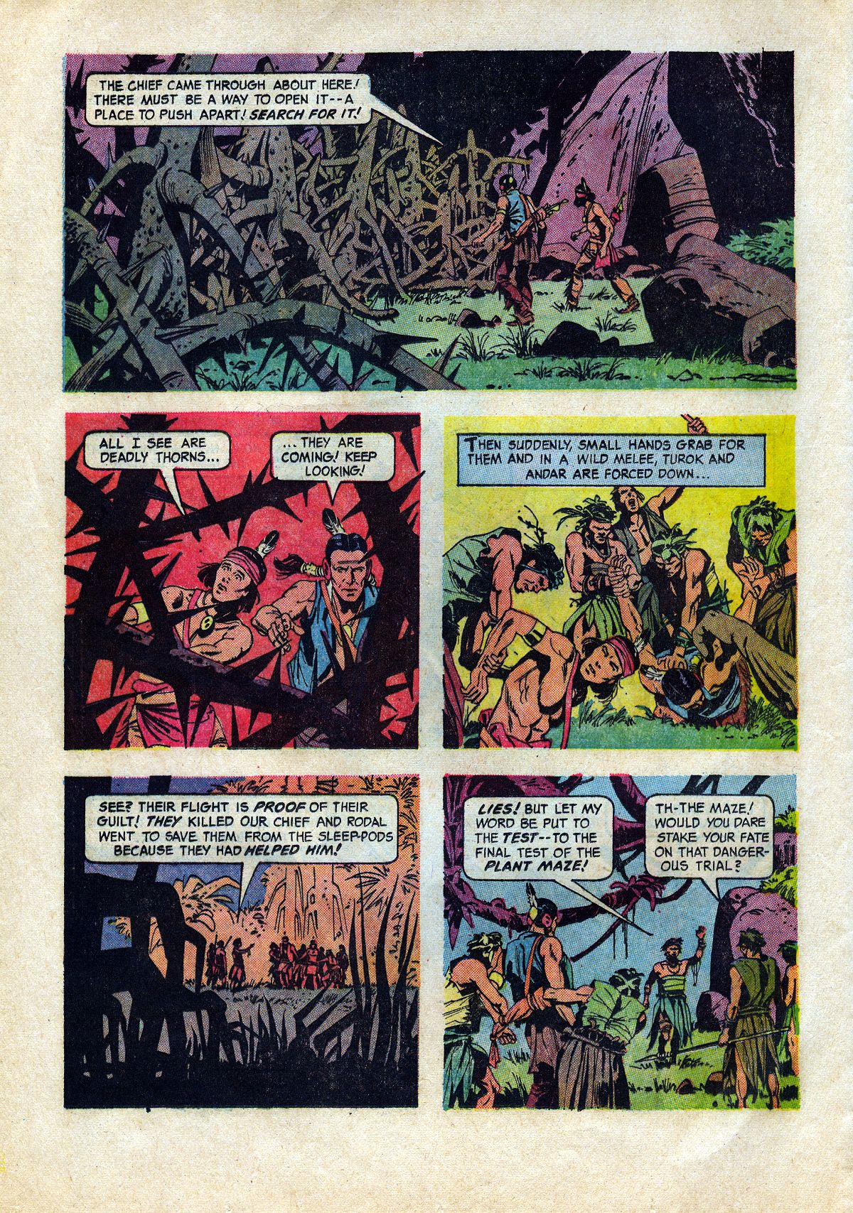 Read online Turok, Son of Stone comic -  Issue #45 - 12