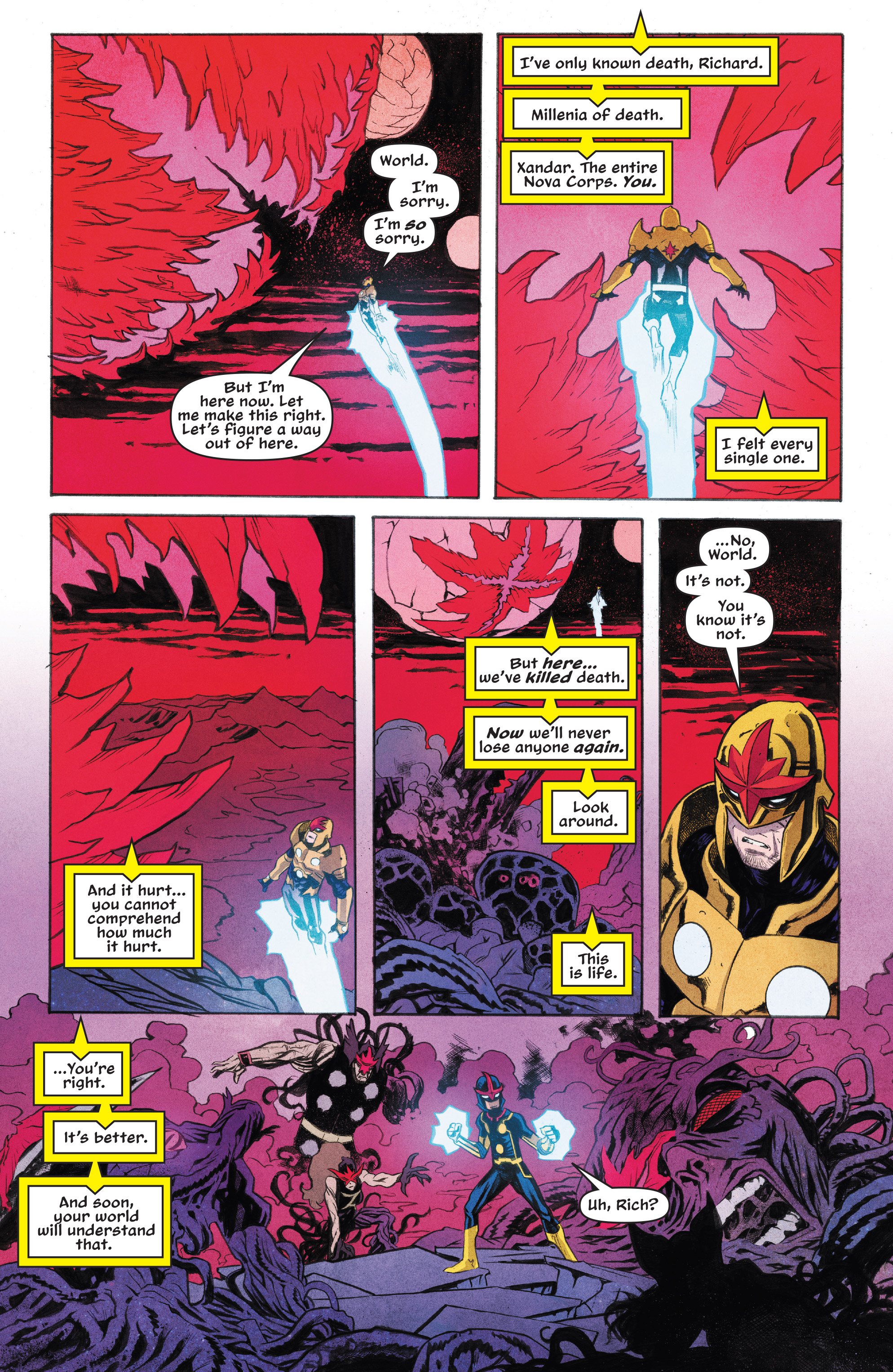 Read online Nova (2017) comic -  Issue #7 - 14