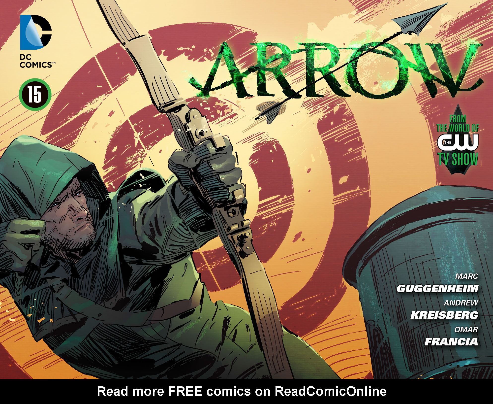 Read online Arrow [II] comic -  Issue #15 - 1