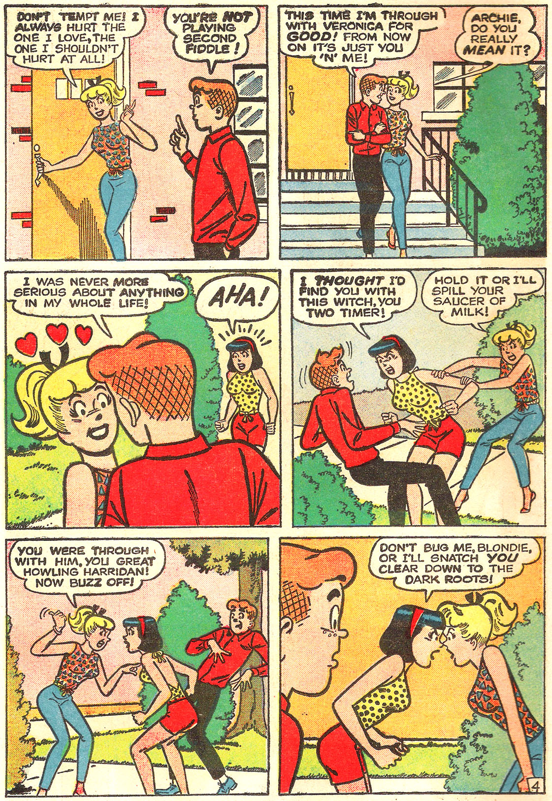 Read online Archie (1960) comic -  Issue #157 - 6