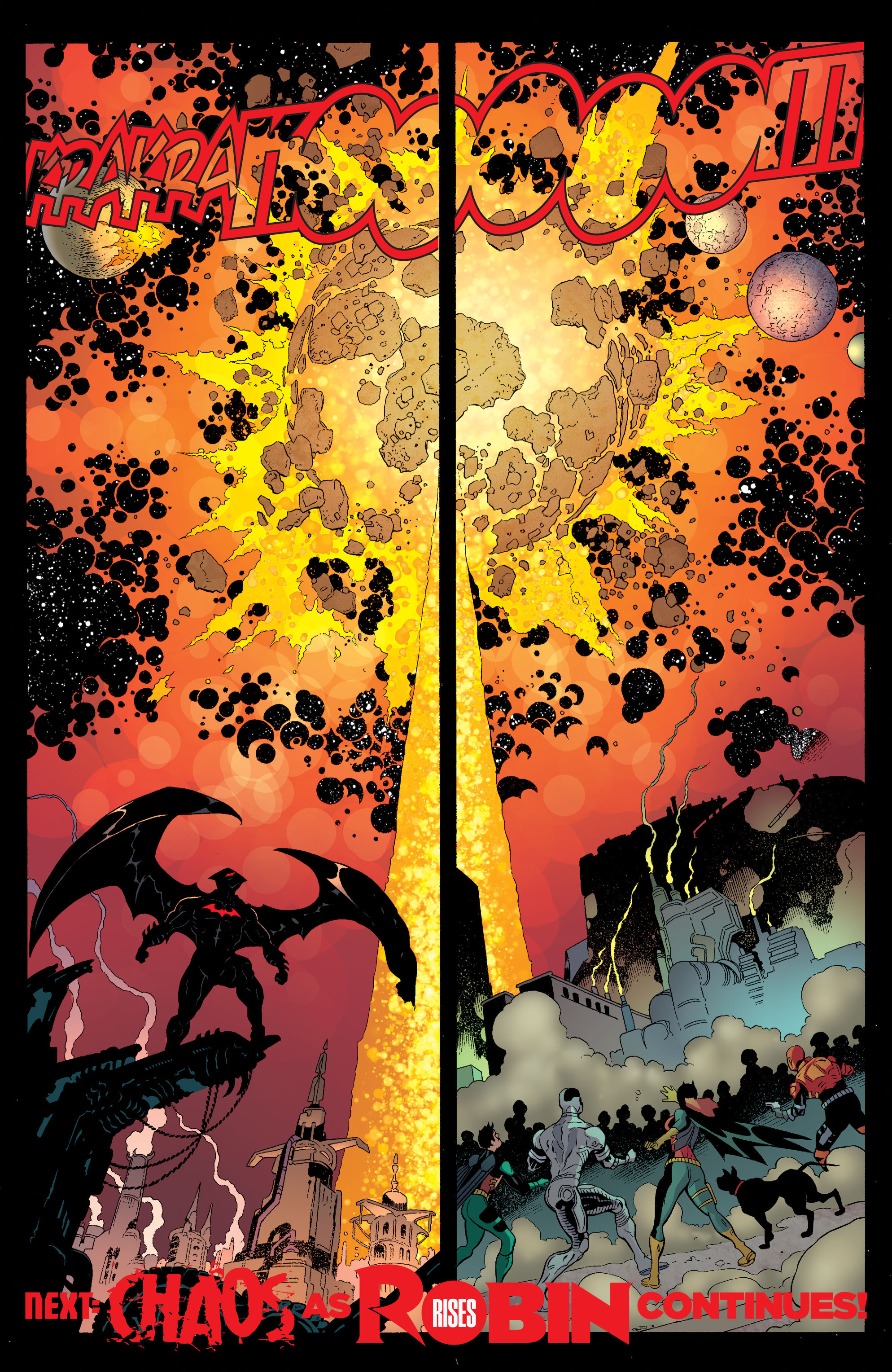 Read online Batman and Robin (2011) comic -  Issue #35 - 21