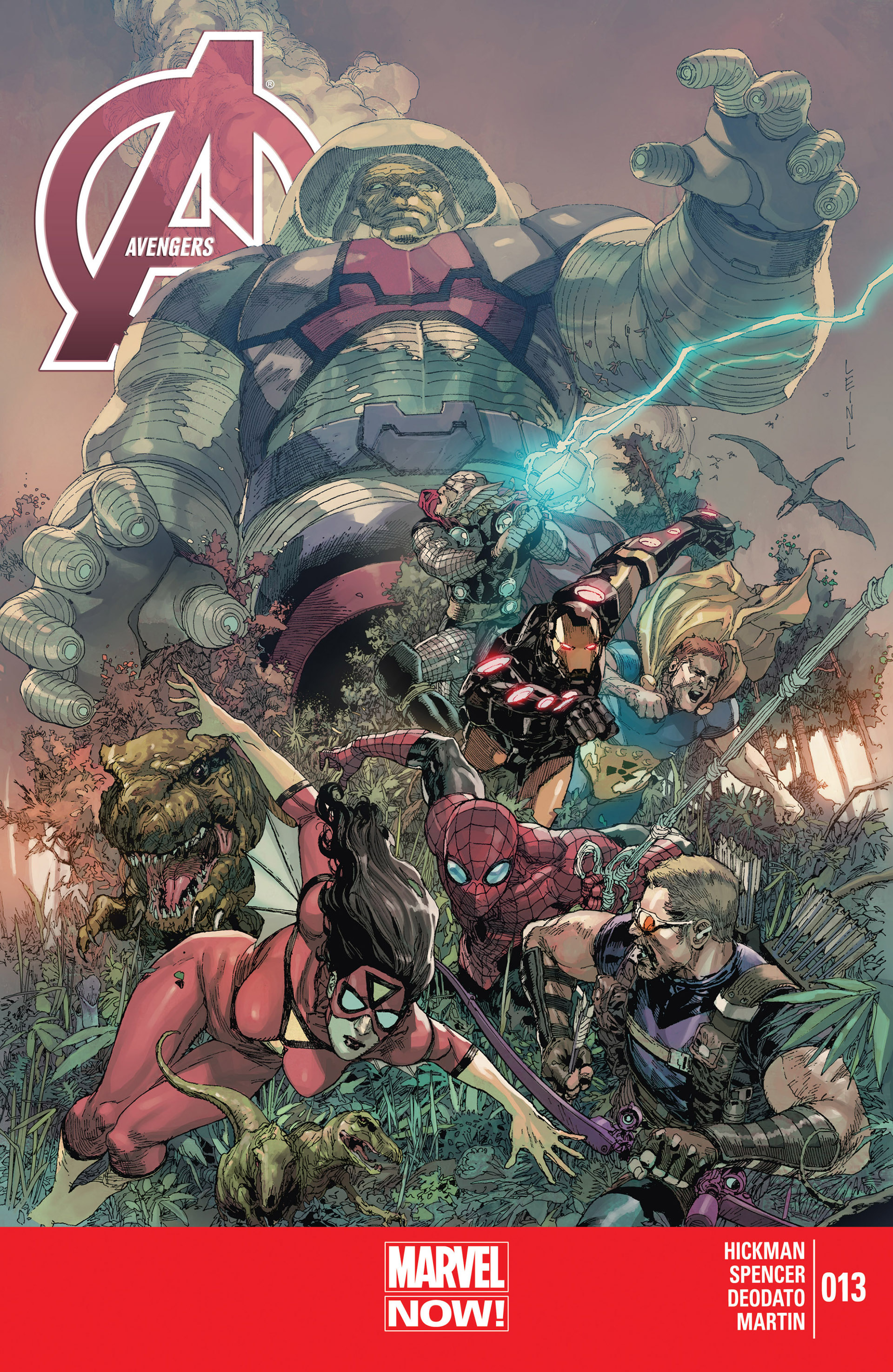 Read online Avengers (2013) comic -  Issue #13 - 1