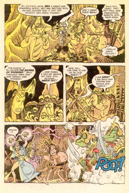 Read online Sergio Aragonés Groo the Wanderer comic -  Issue #21 - 8