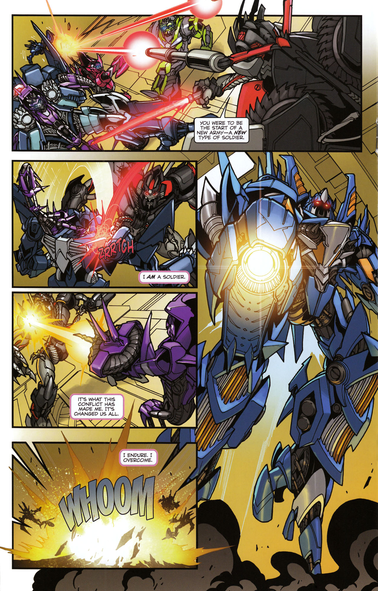 Read online Transformers: Tales of The Fallen comic -  Issue #6 - 18