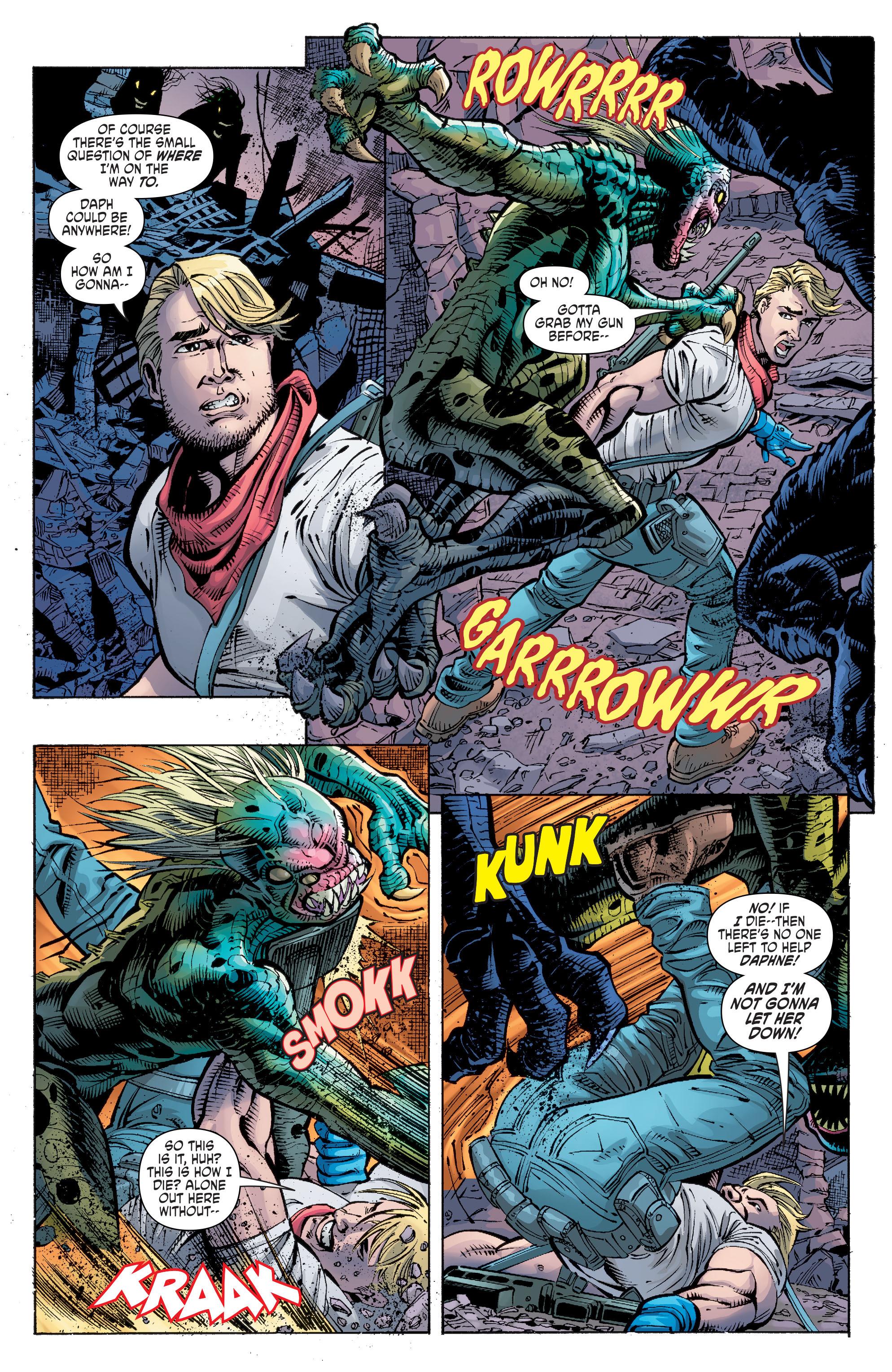 Read online Scooby Apocalypse comic -  Issue #10 - 13