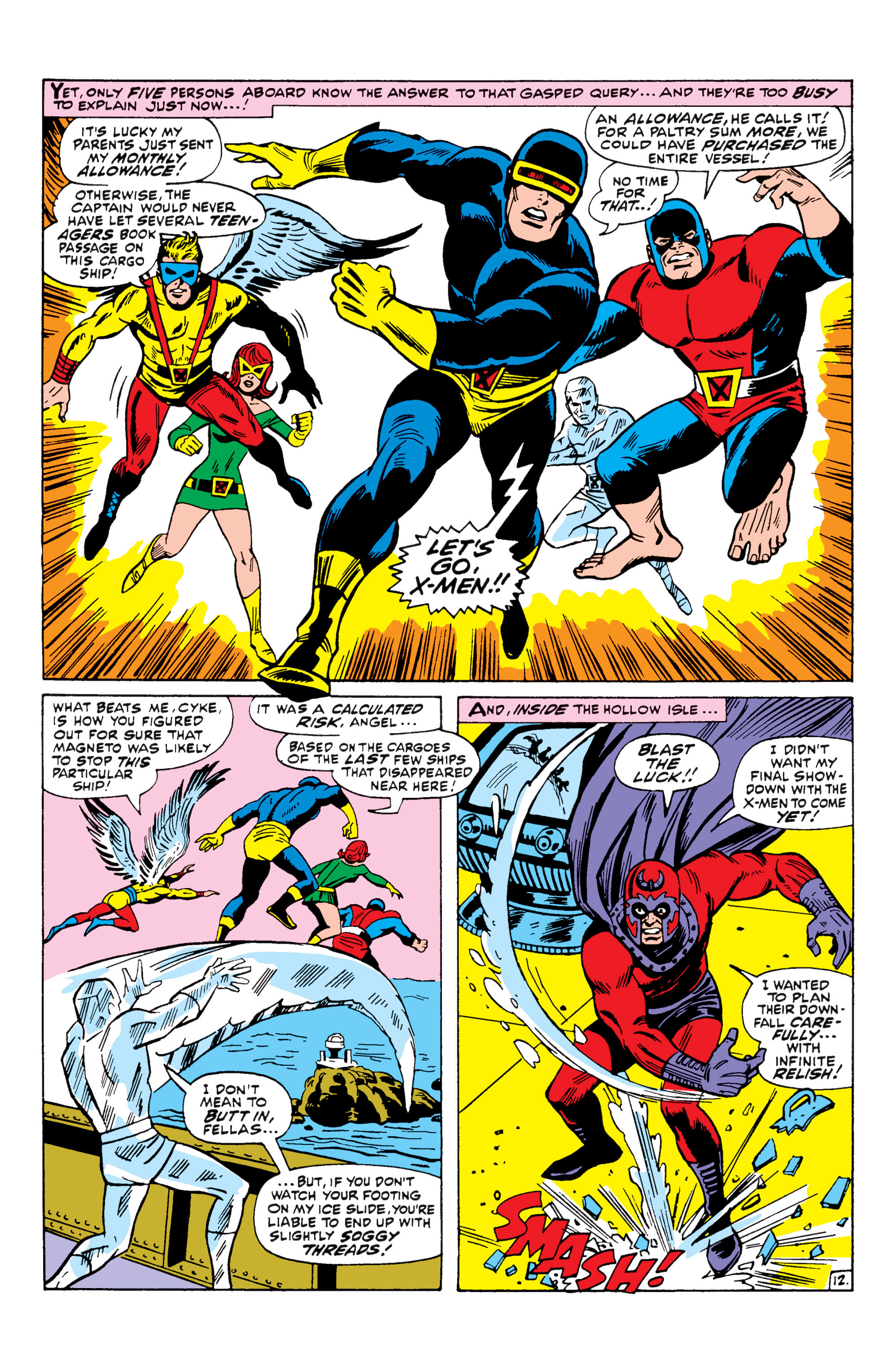 Read online Uncanny X-Men (1963) comic -  Issue #43 - 13