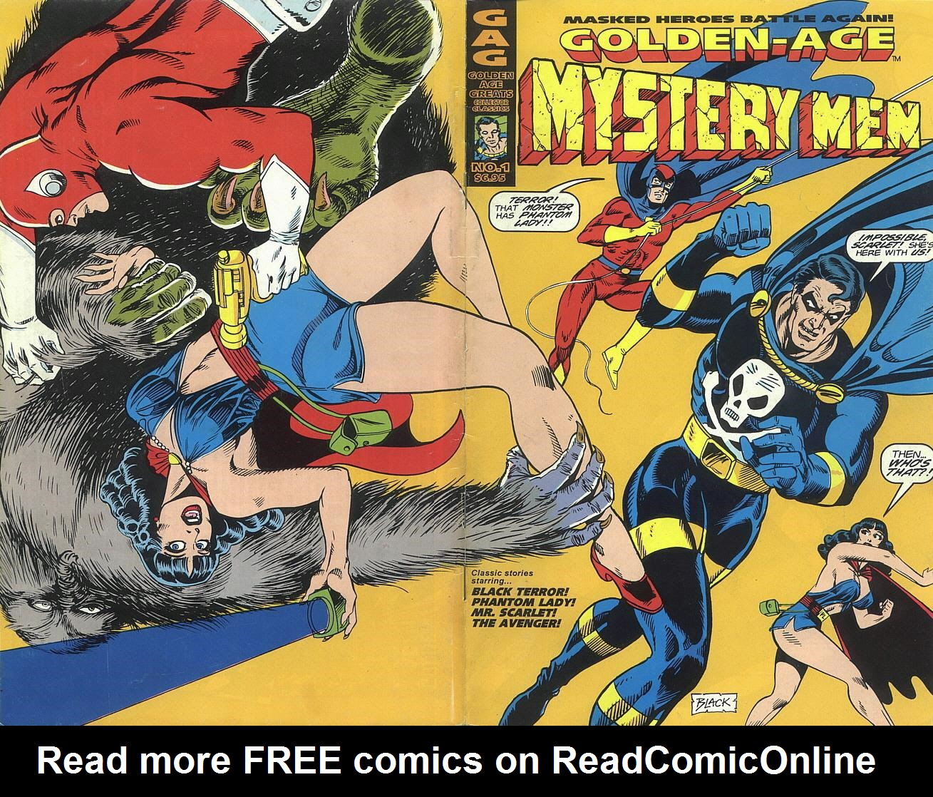 Read online Golden-Age Men of Mystery comic -  Issue #1 - 12