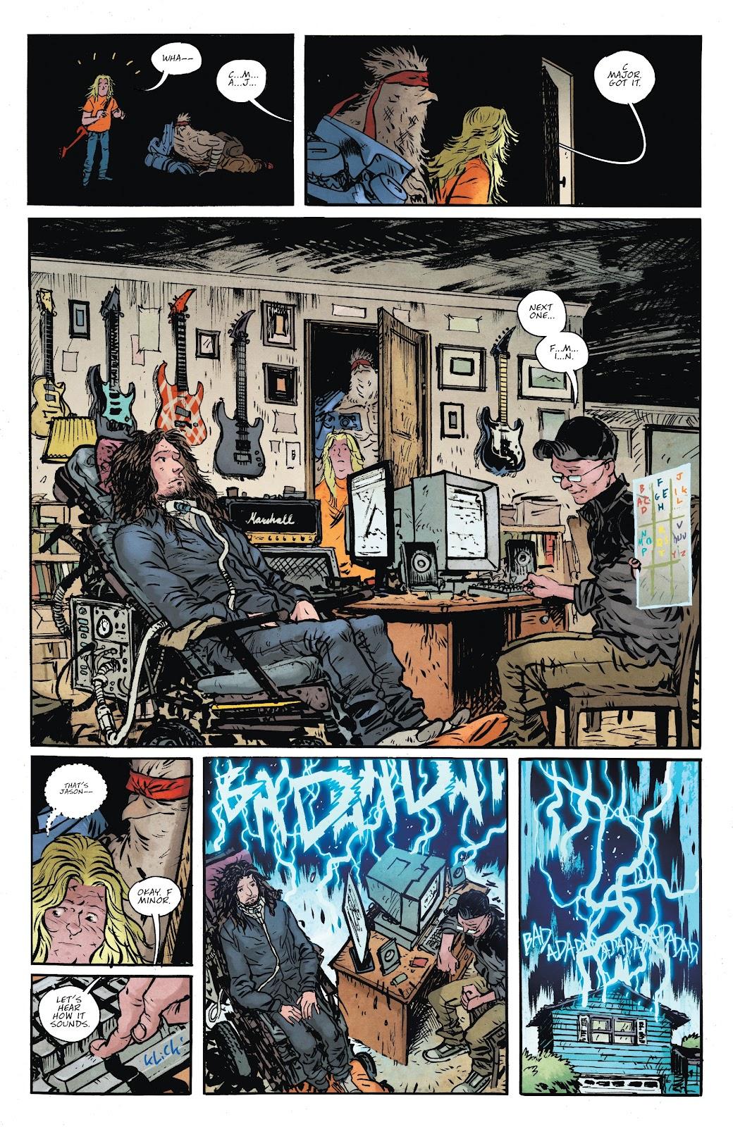 Read online Murder Falcon comic -  Issue #8 - 16