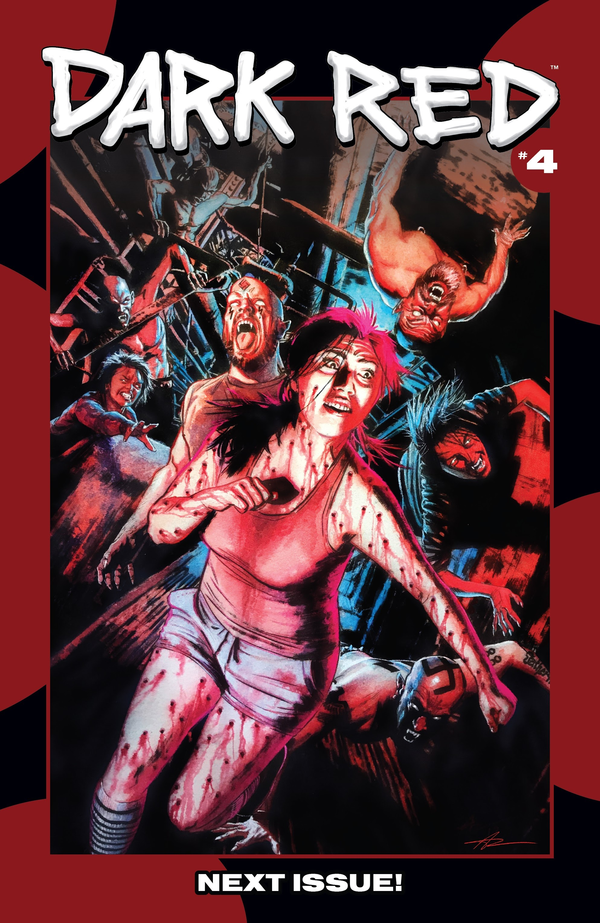 Read online Dark Red comic -  Issue #3 - 20