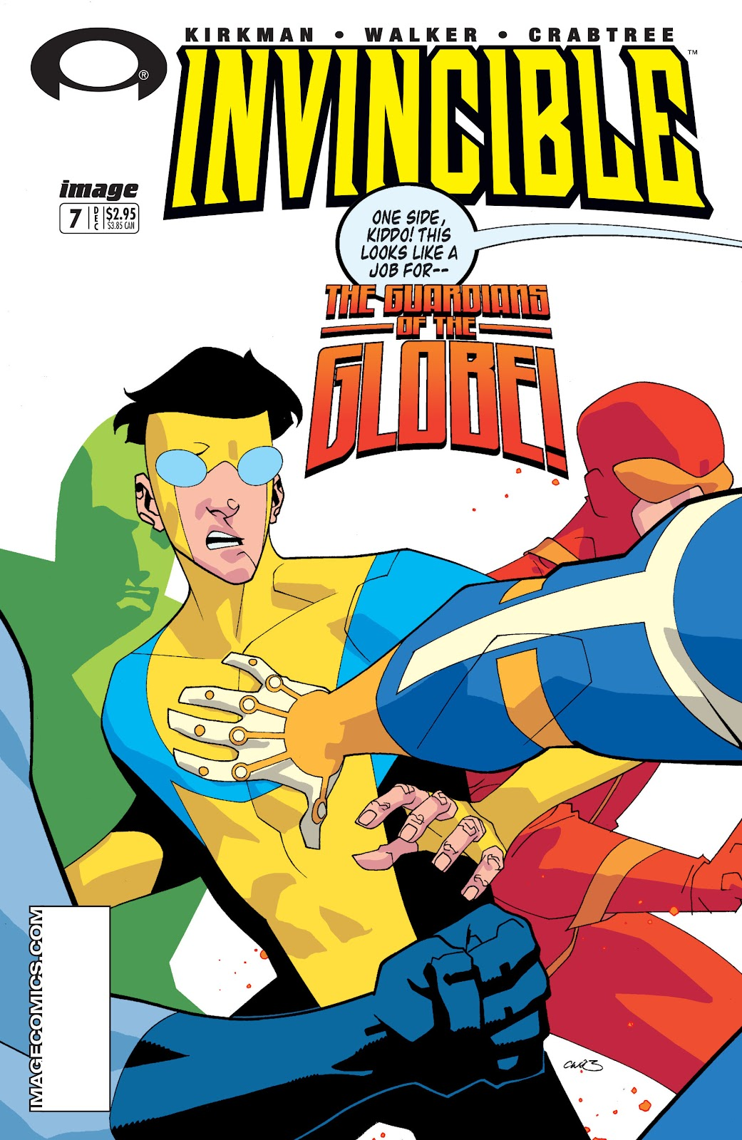 Invincible (2003) issue 7 - Page 1