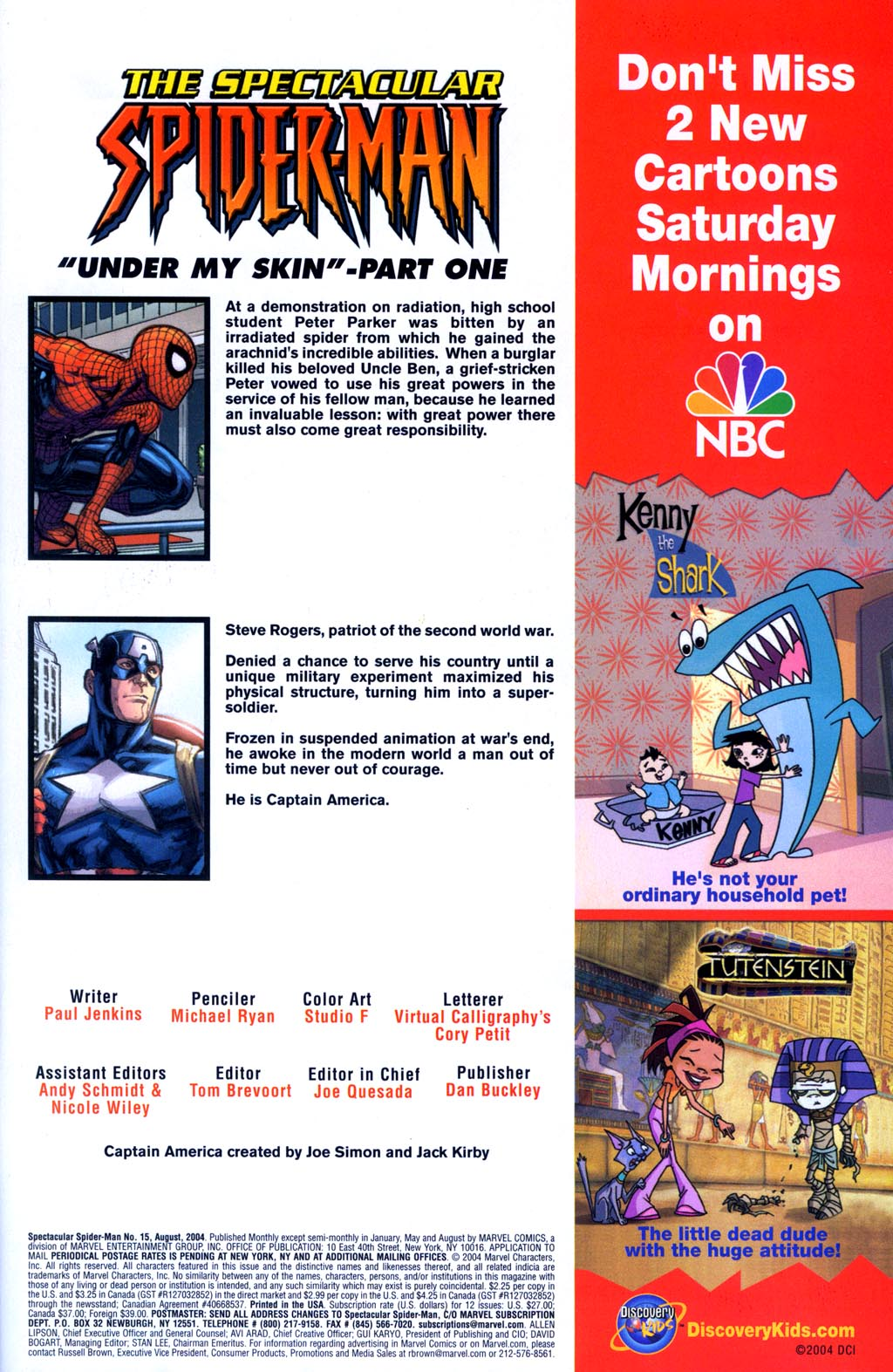 The Spectacular Spider-Man (2003) 15 Page 2