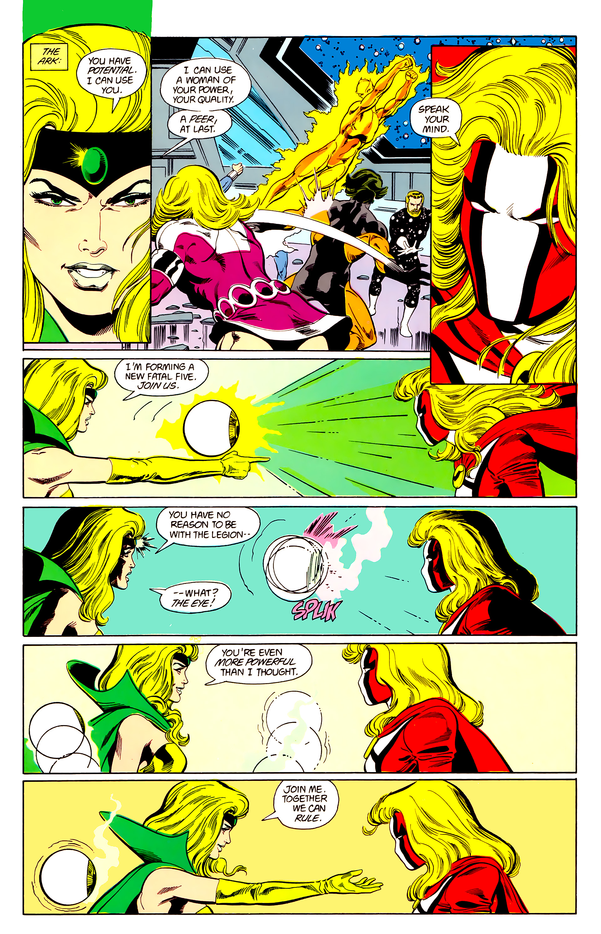 Legion of Super-Heroes (1984) 21 Page 18