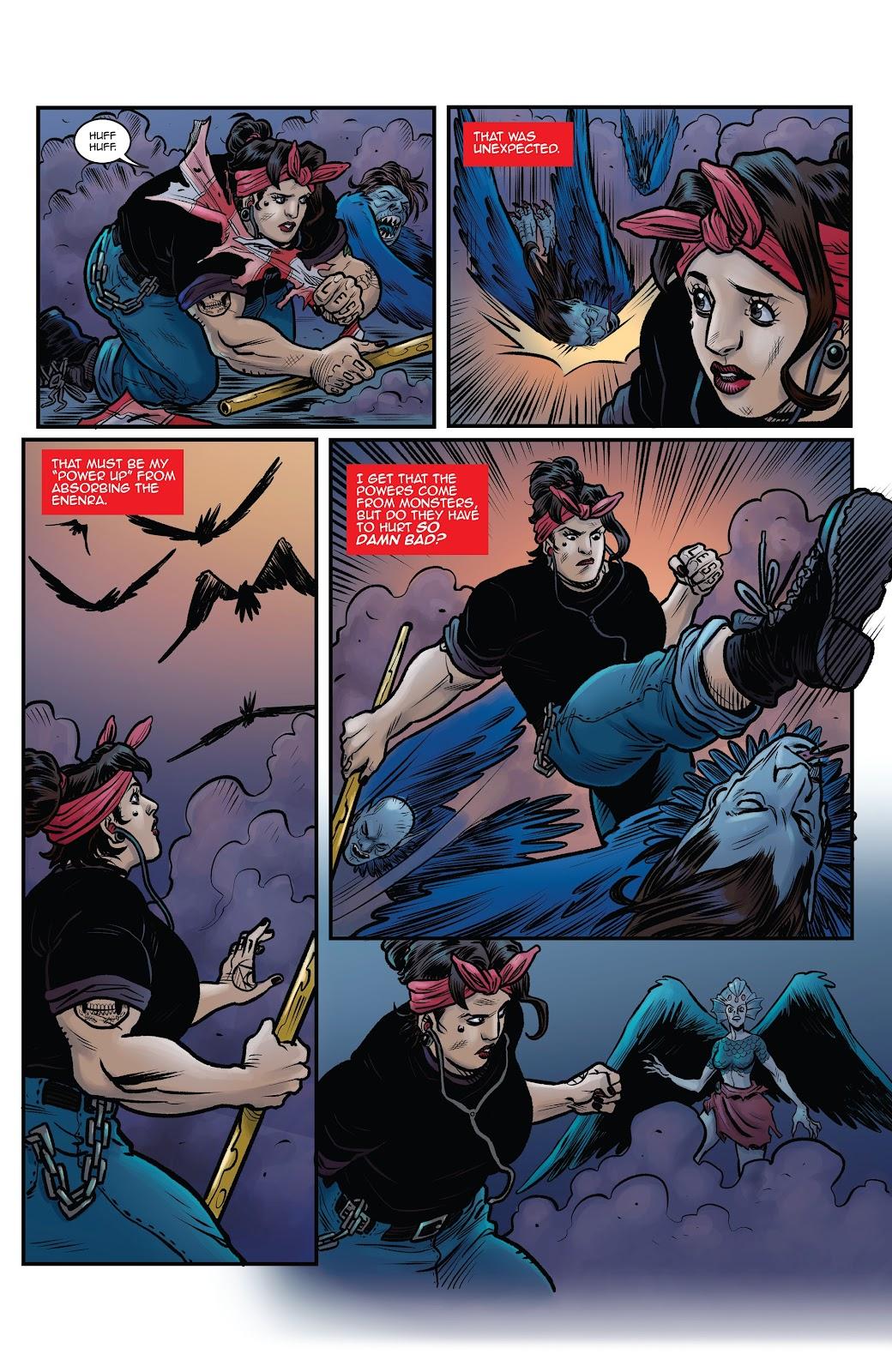 Read online Black Betty comic -  Issue #8 - 16