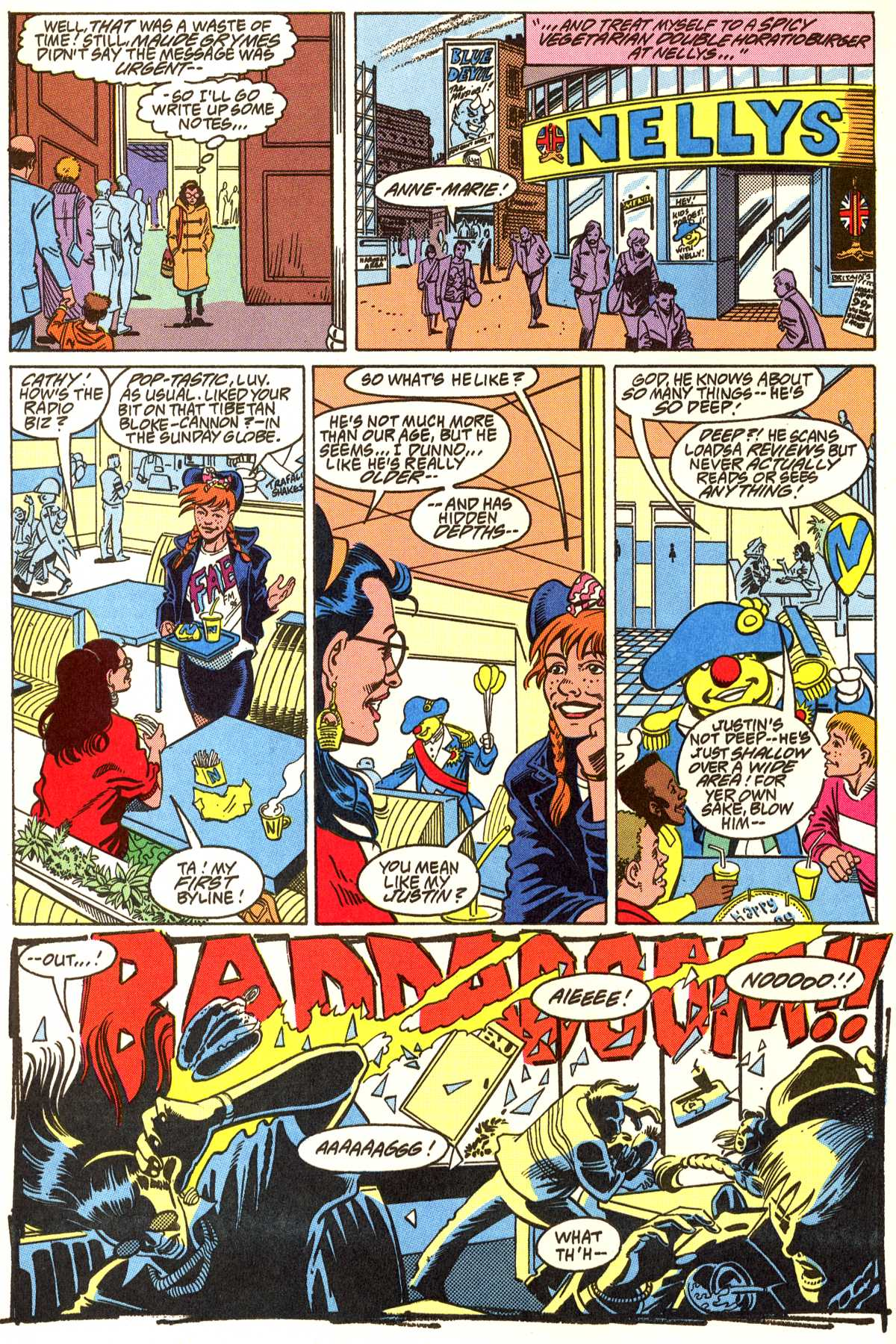 Read online Peter Cannon--Thunderbolt (1992) comic -  Issue #5 - 9