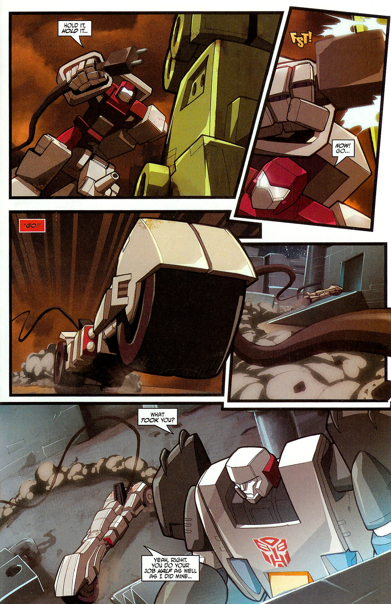 """Read online Transformers War Within: """"The Dark Ages"""" comic -  Issue #3 - 20"""