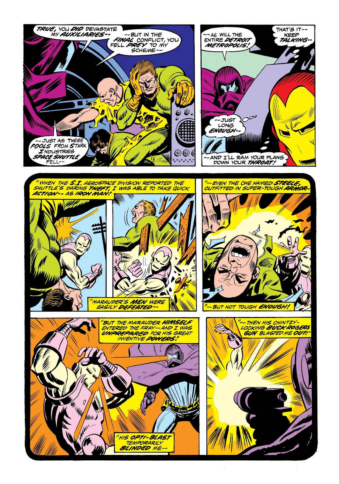 Read online Marvel Masterworks: The Invincible Iron Man comic -  Issue # TPB 9 (Part 2) - 56