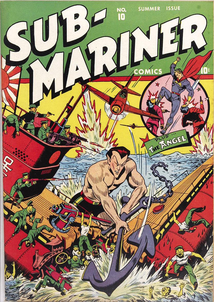 Sub-Mariner Comics 10 Page 1