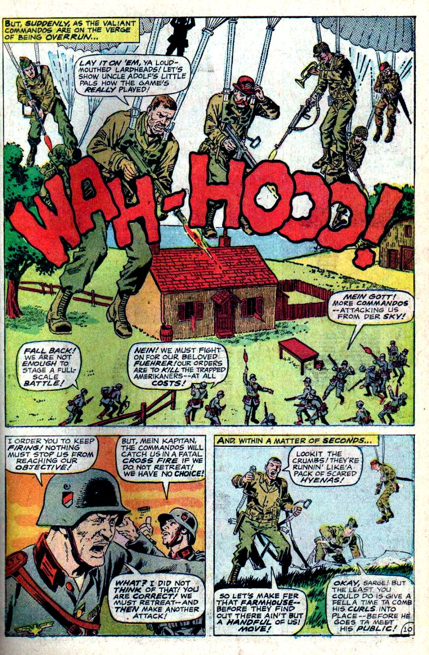 Read online Sgt. Fury comic -  Issue #46 - 15