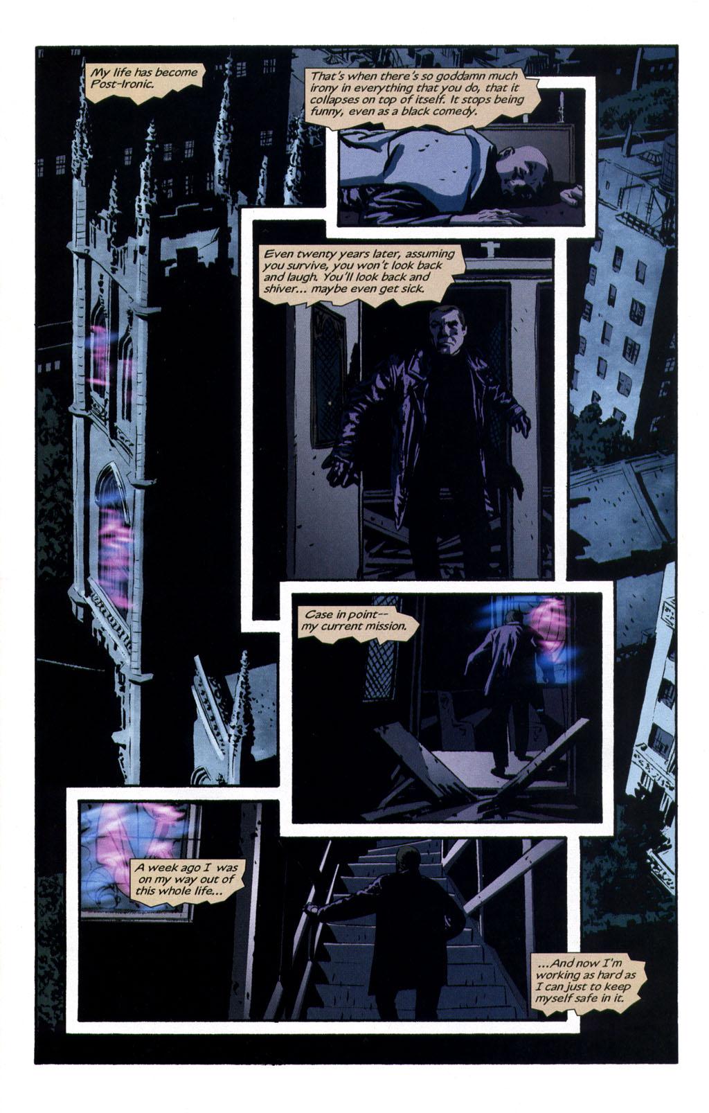 Read online Sleeper comic -  Issue #9 - 3