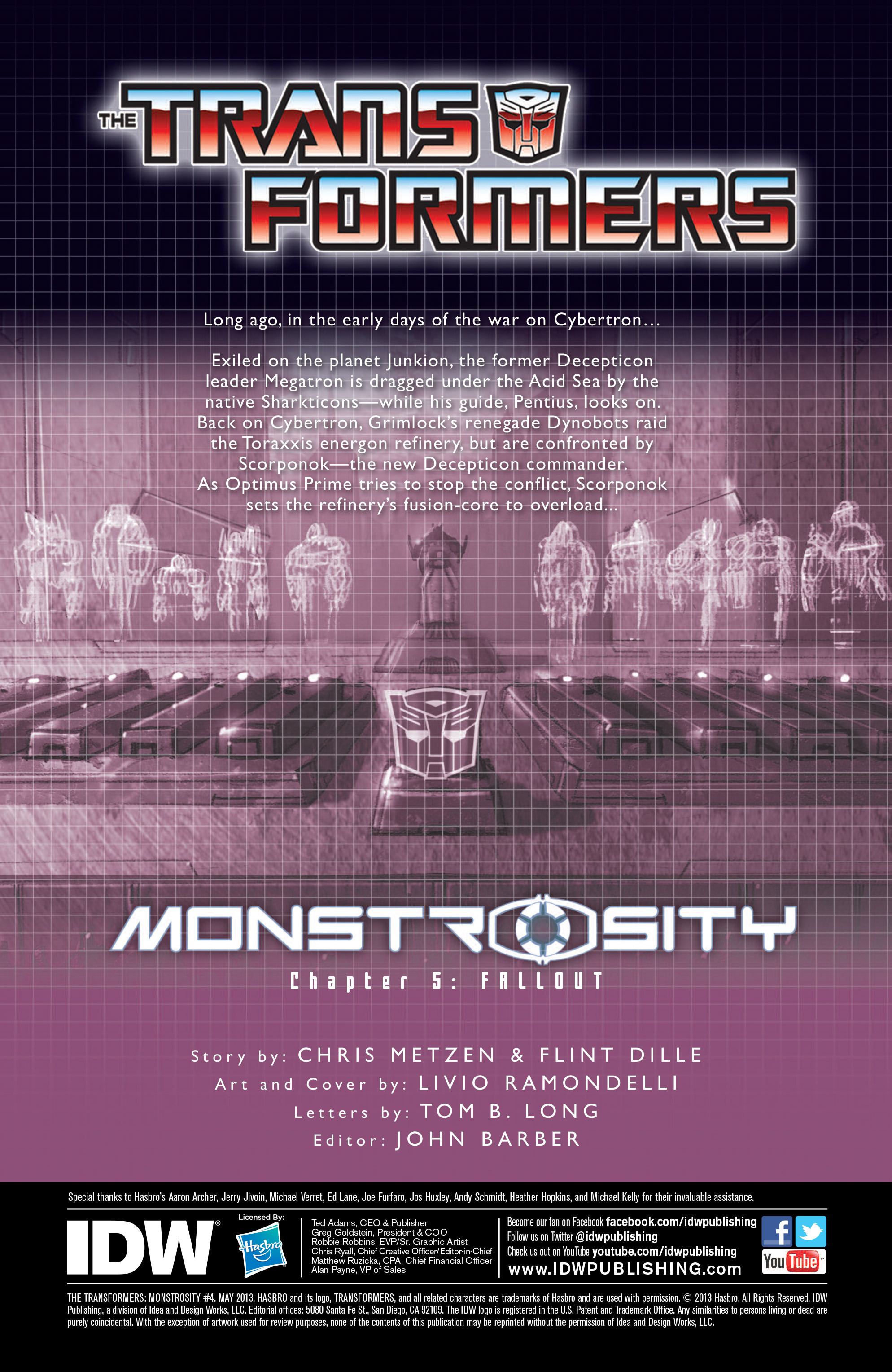 The Transformers: Monstrosity 5 Page 2