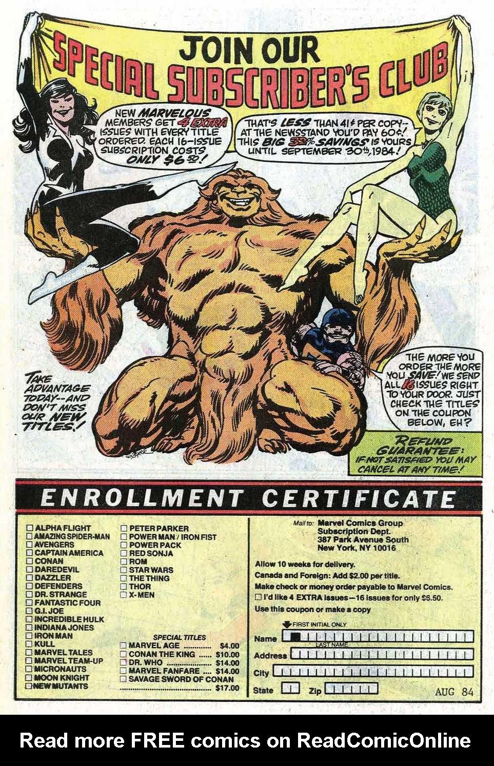 Read online Uncanny X-Men (1963) comic -  Issue # _Annual 8 - 32